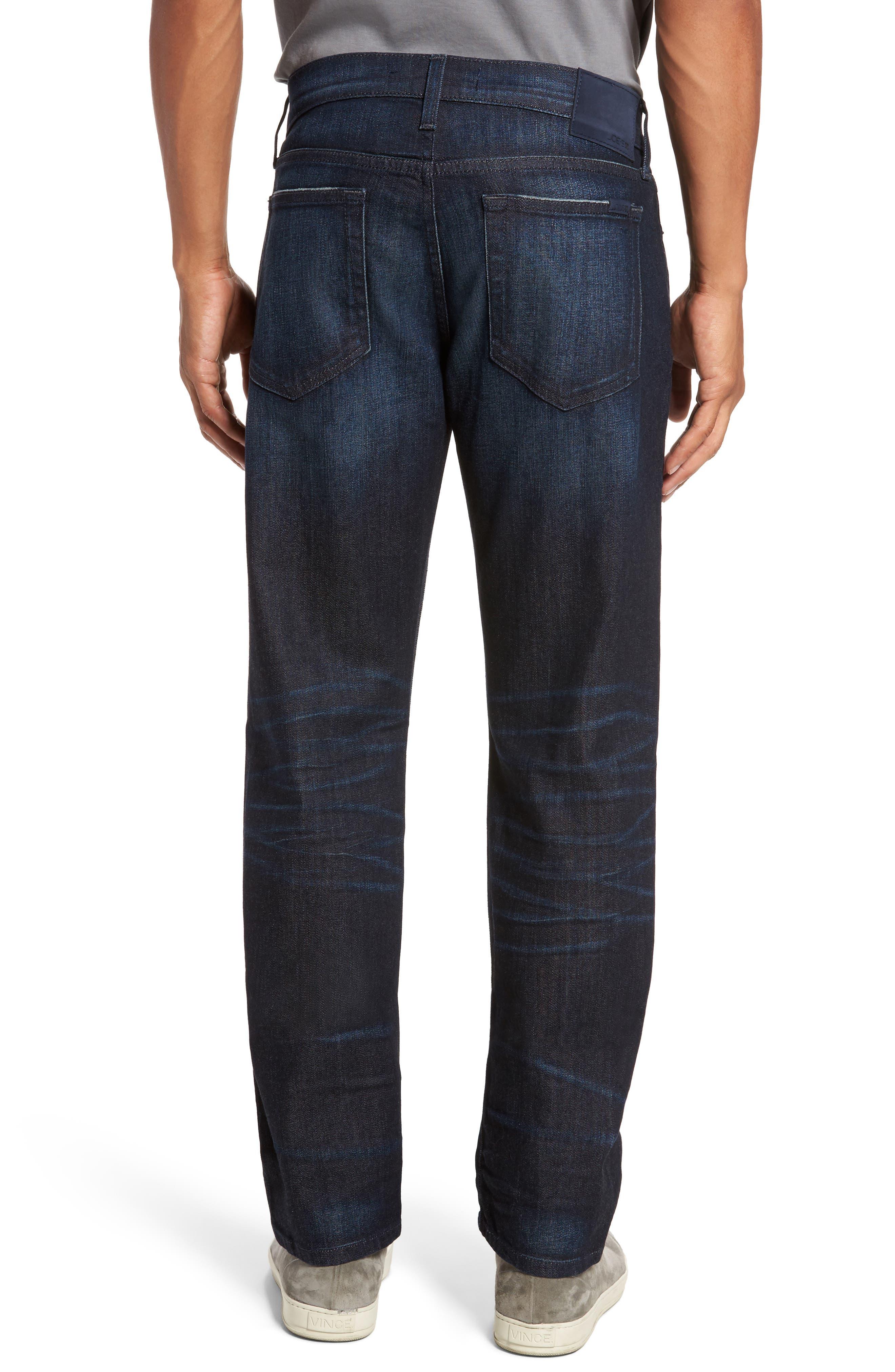 Brixton Slim Straight Fit Jeans,                             Alternate thumbnail 2, color,                             405