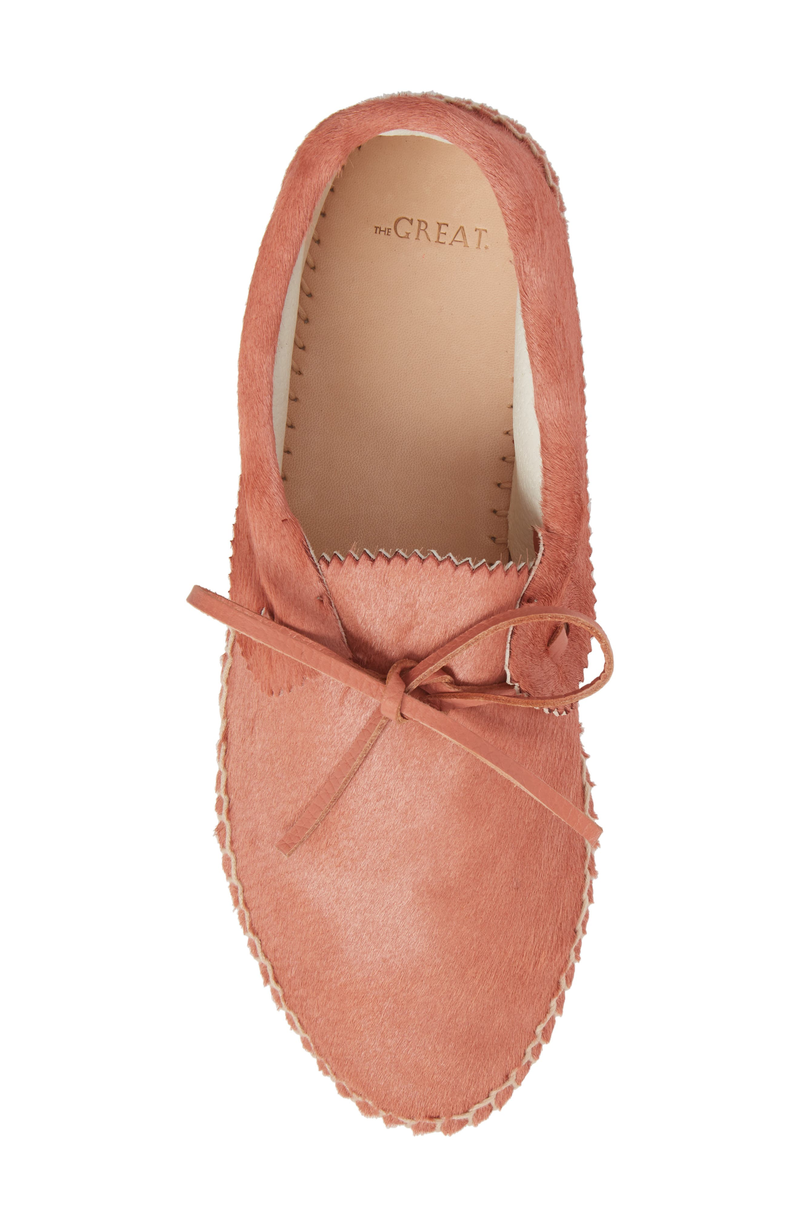 Canyon Moccasin Flat,                             Alternate thumbnail 5, color,                             DUSTY ROSE