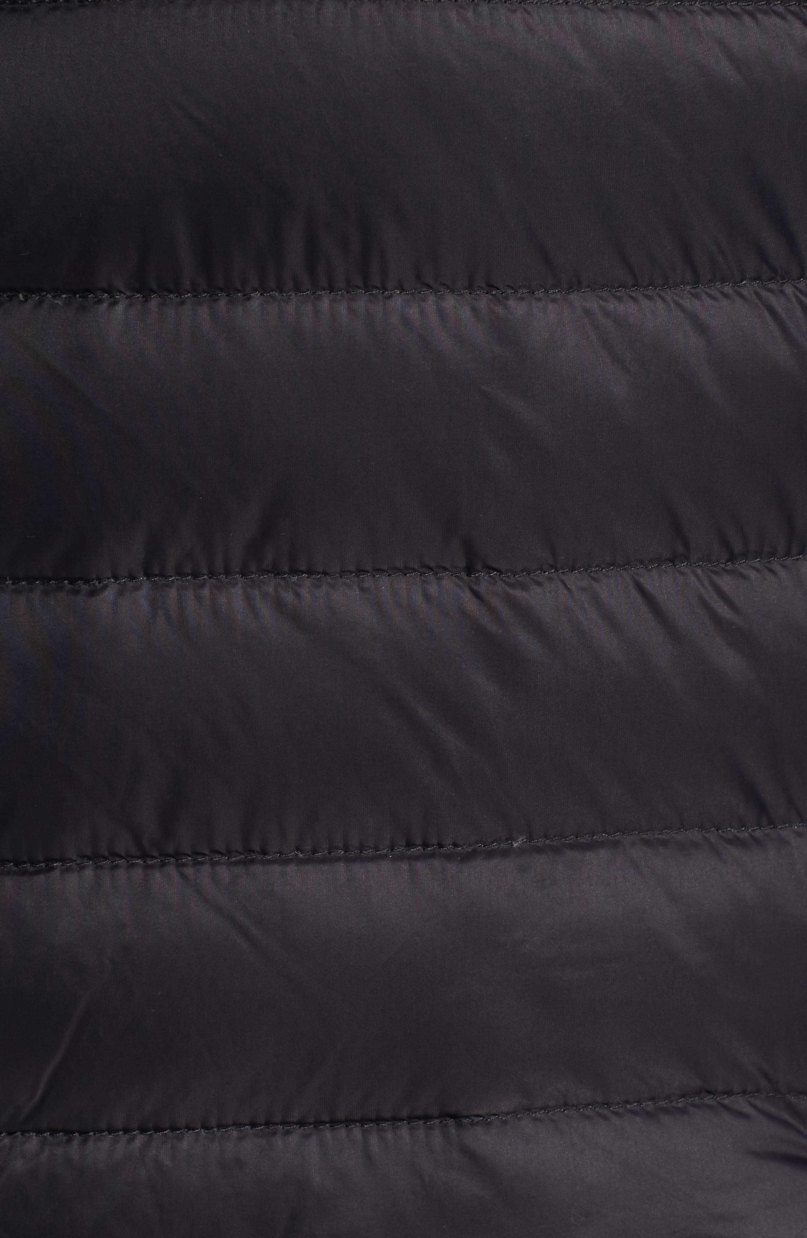 Zip Front Down Jacket,                             Alternate thumbnail 6, color,                             001