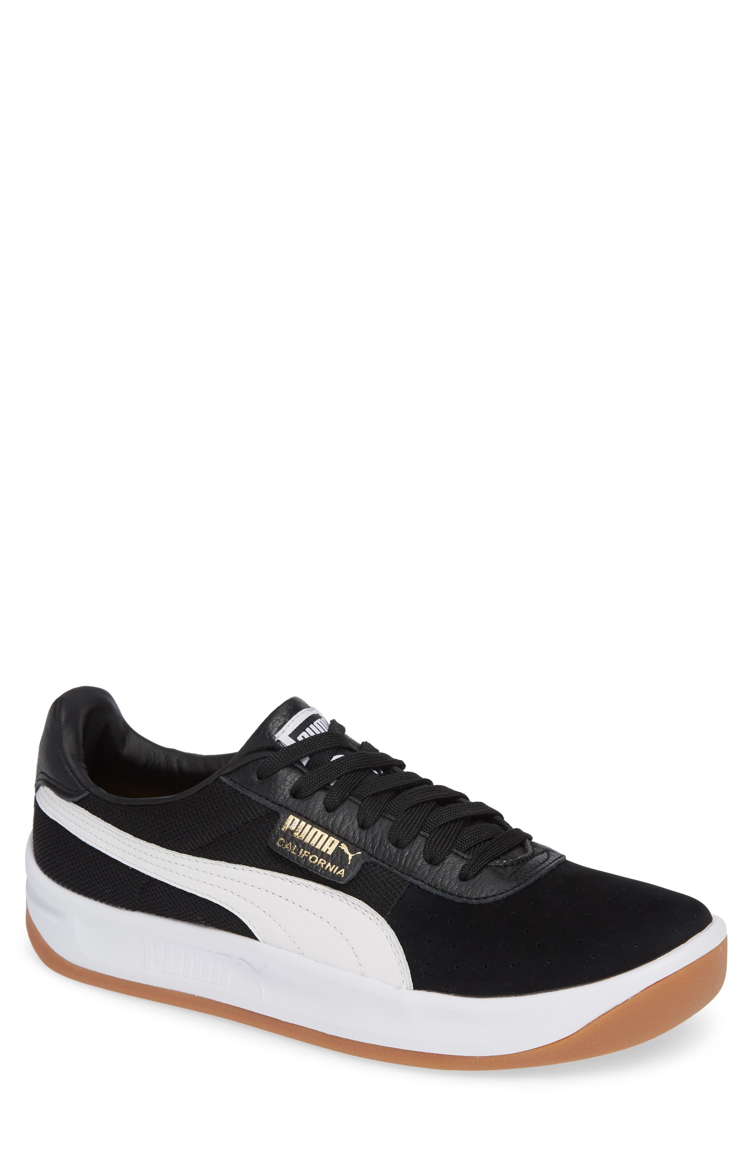 PUMA,                             California Casual Sneaker,                             Main thumbnail 1, color,                             001