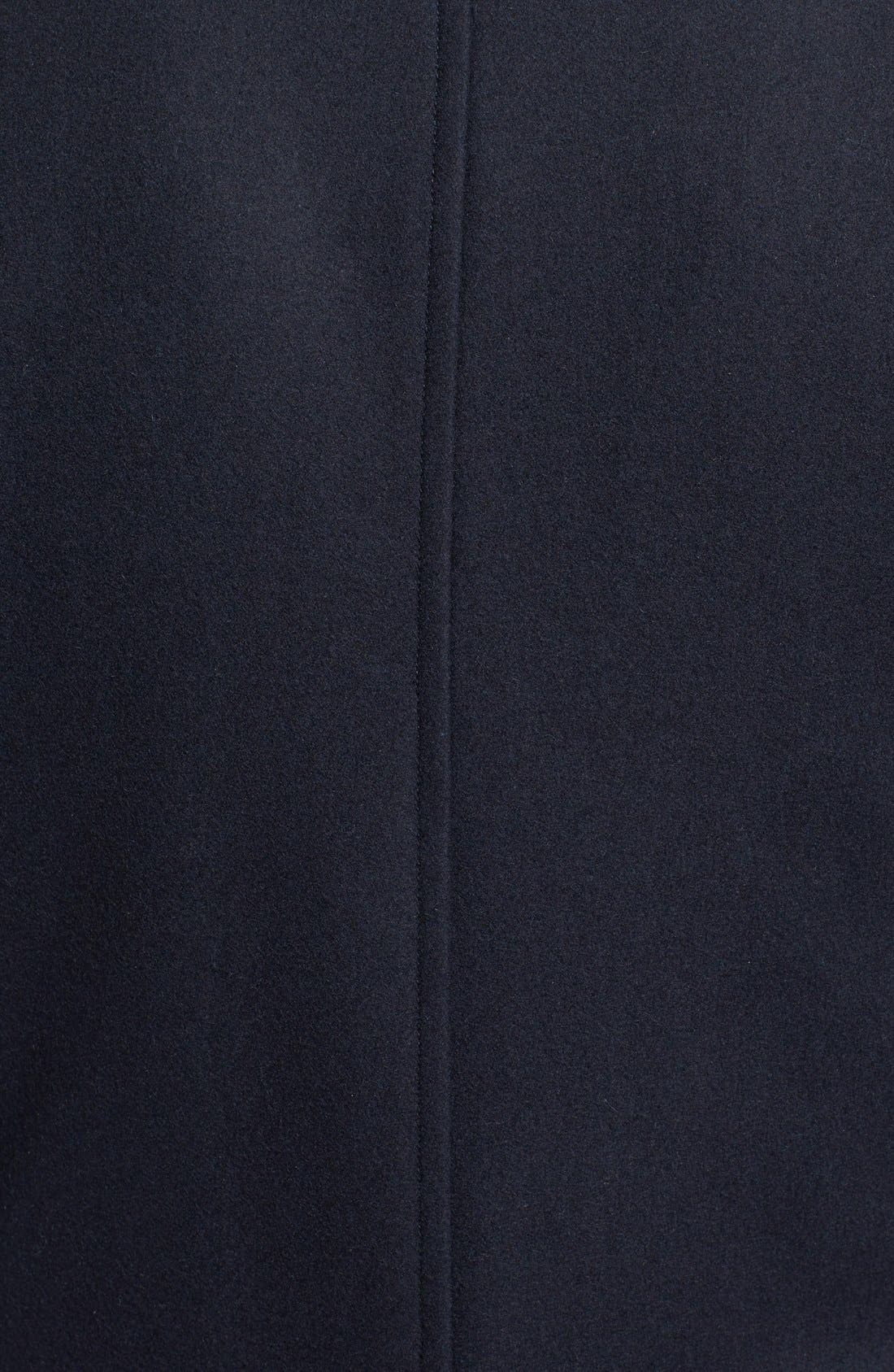 Wool Blend Double Breasted Peacoat,                             Alternate thumbnail 126, color,