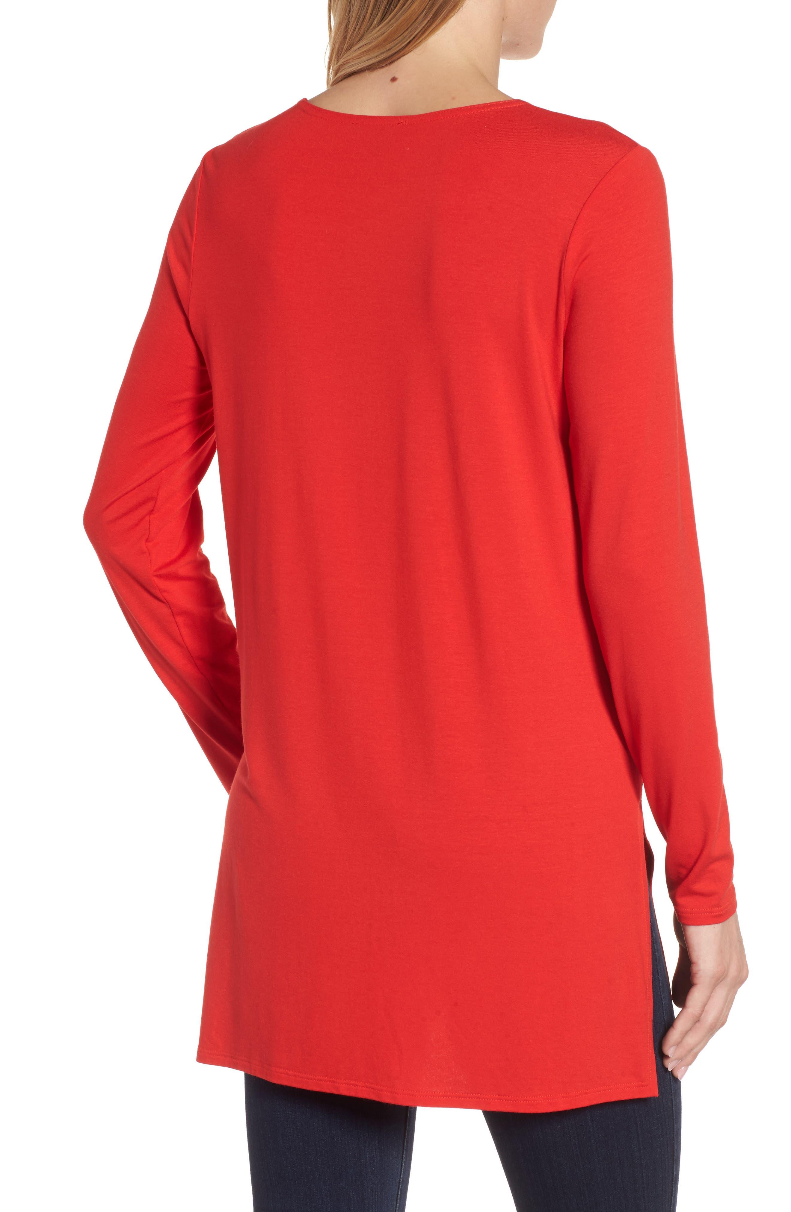 Jersey Tunic,                             Alternate thumbnail 4, color,