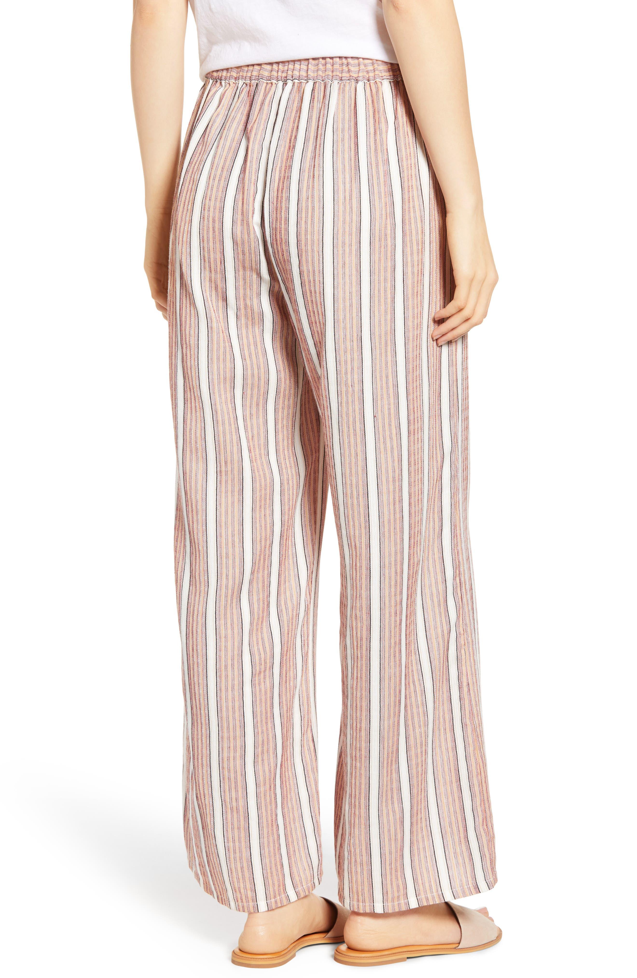 Midnight Avenue Stripe Pants,                             Alternate thumbnail 2, color,                             AMERICAN BEAUTY MULTI STRIPES