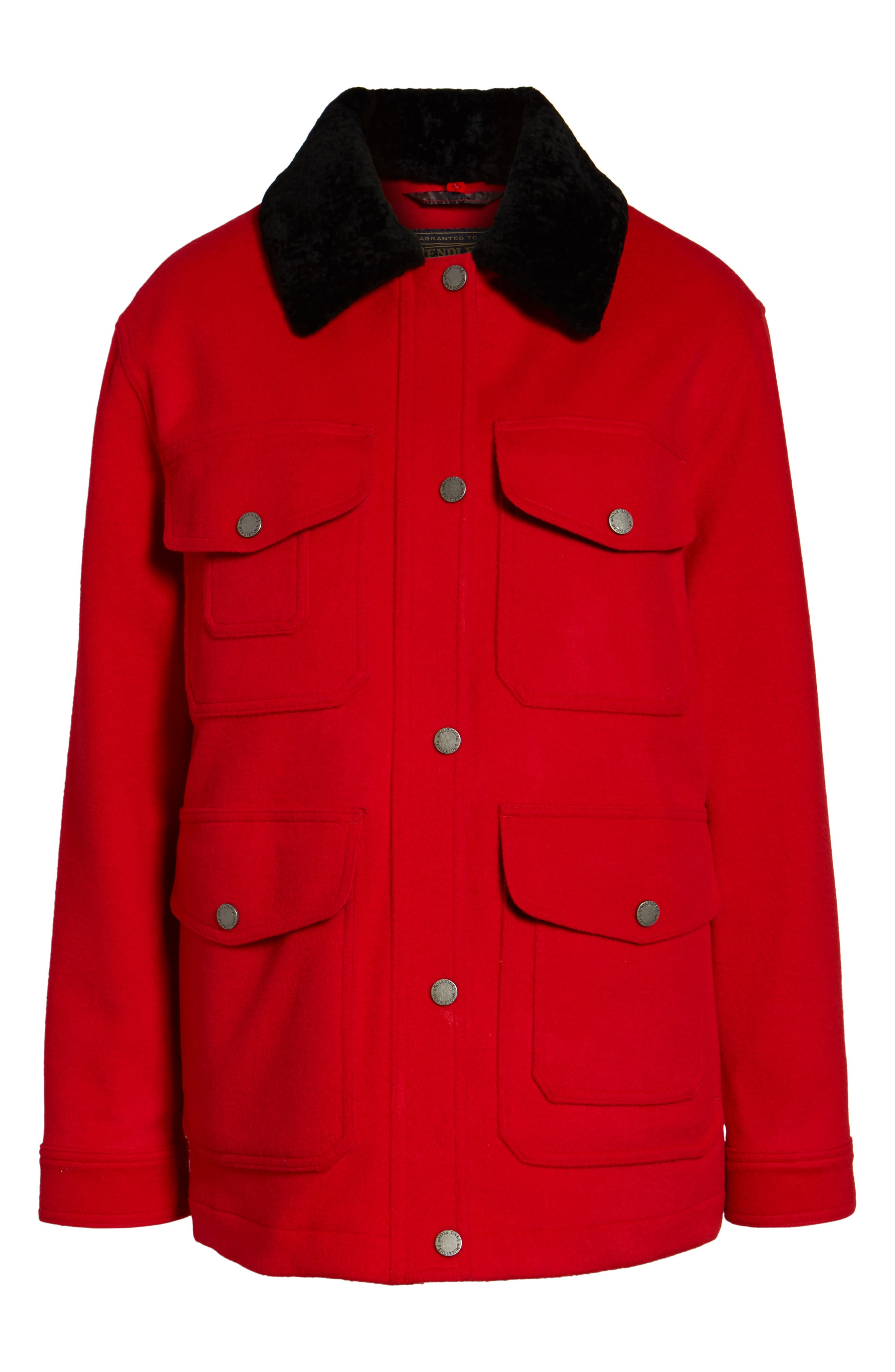 Manchester Waterproof Field Coat,                             Alternate thumbnail 10, color,