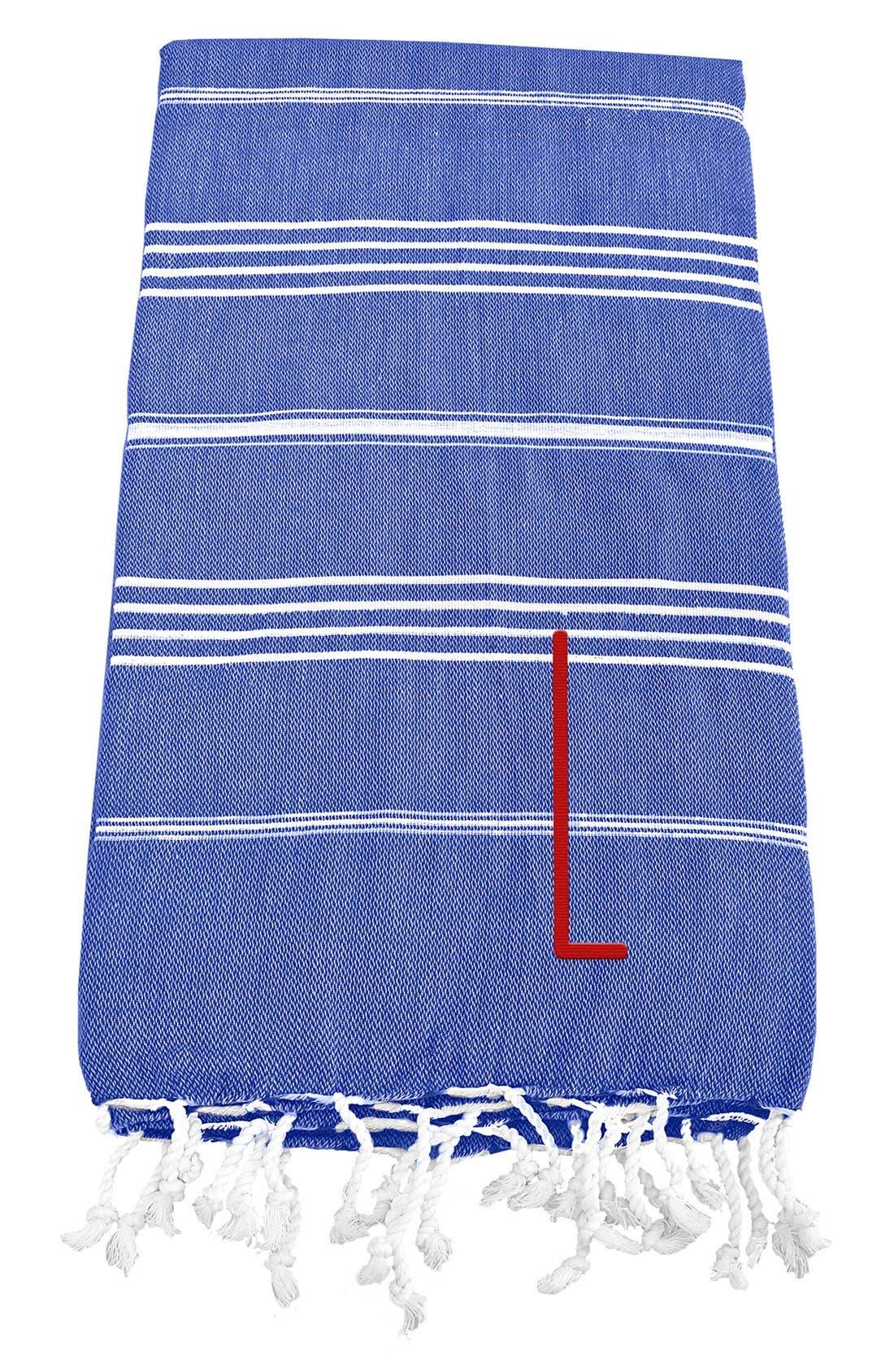 Monogram Turkish Cotton Towel,                             Main thumbnail 68, color,