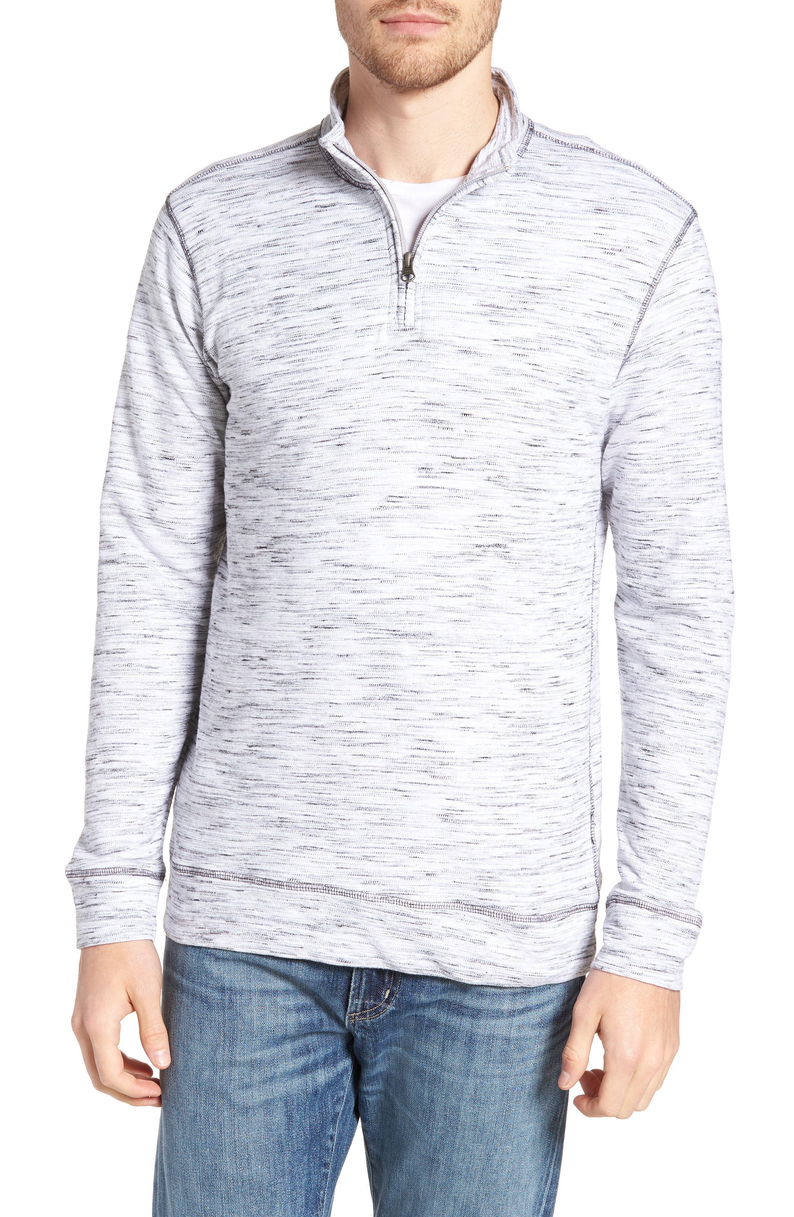 Regular Fit Jacquard Quarter Zip Shirt,                             Main thumbnail 1, color,                             270