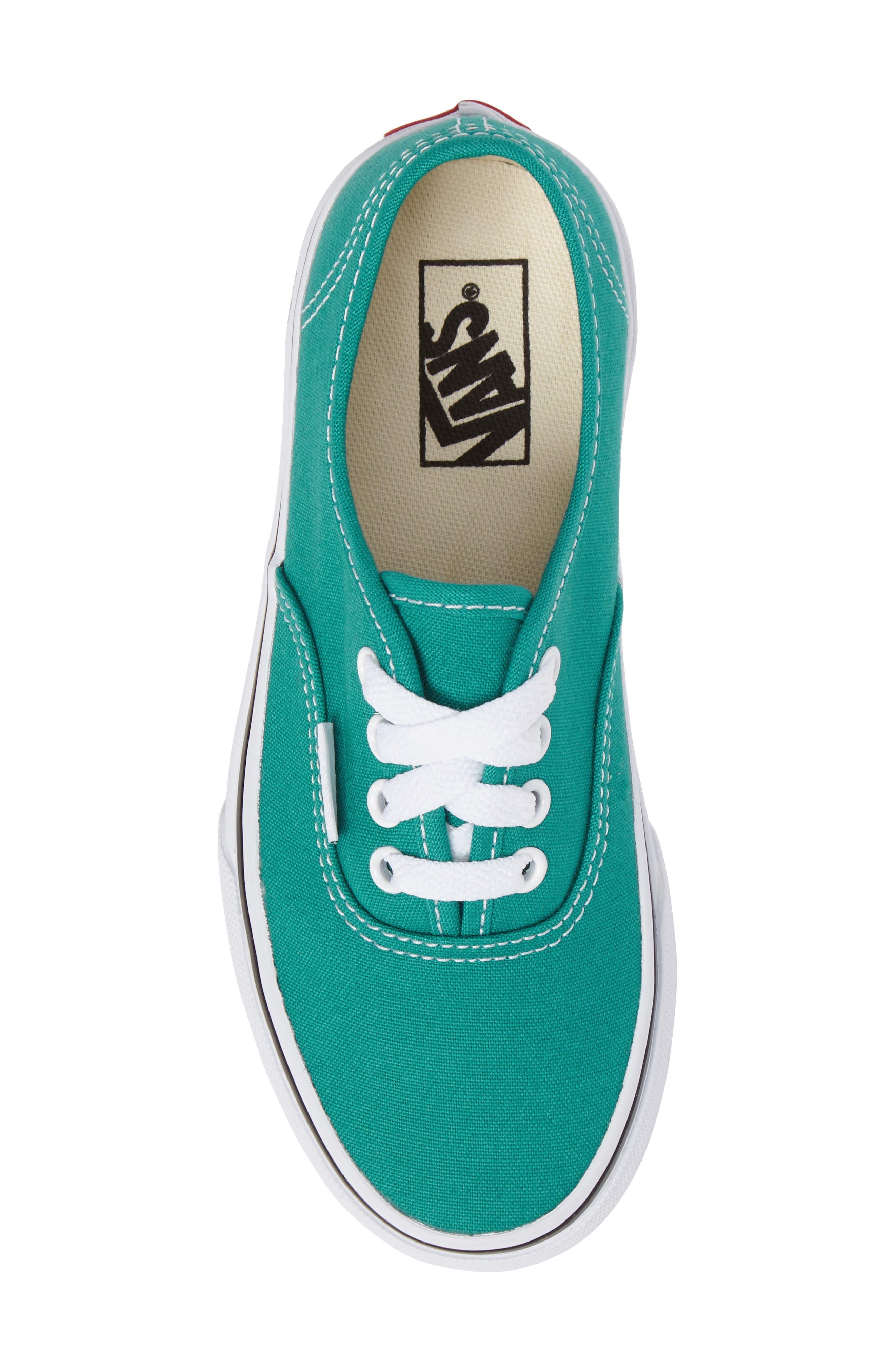 VANS,                             Authentic Sneaker,                             Alternate thumbnail 5, color,                             400