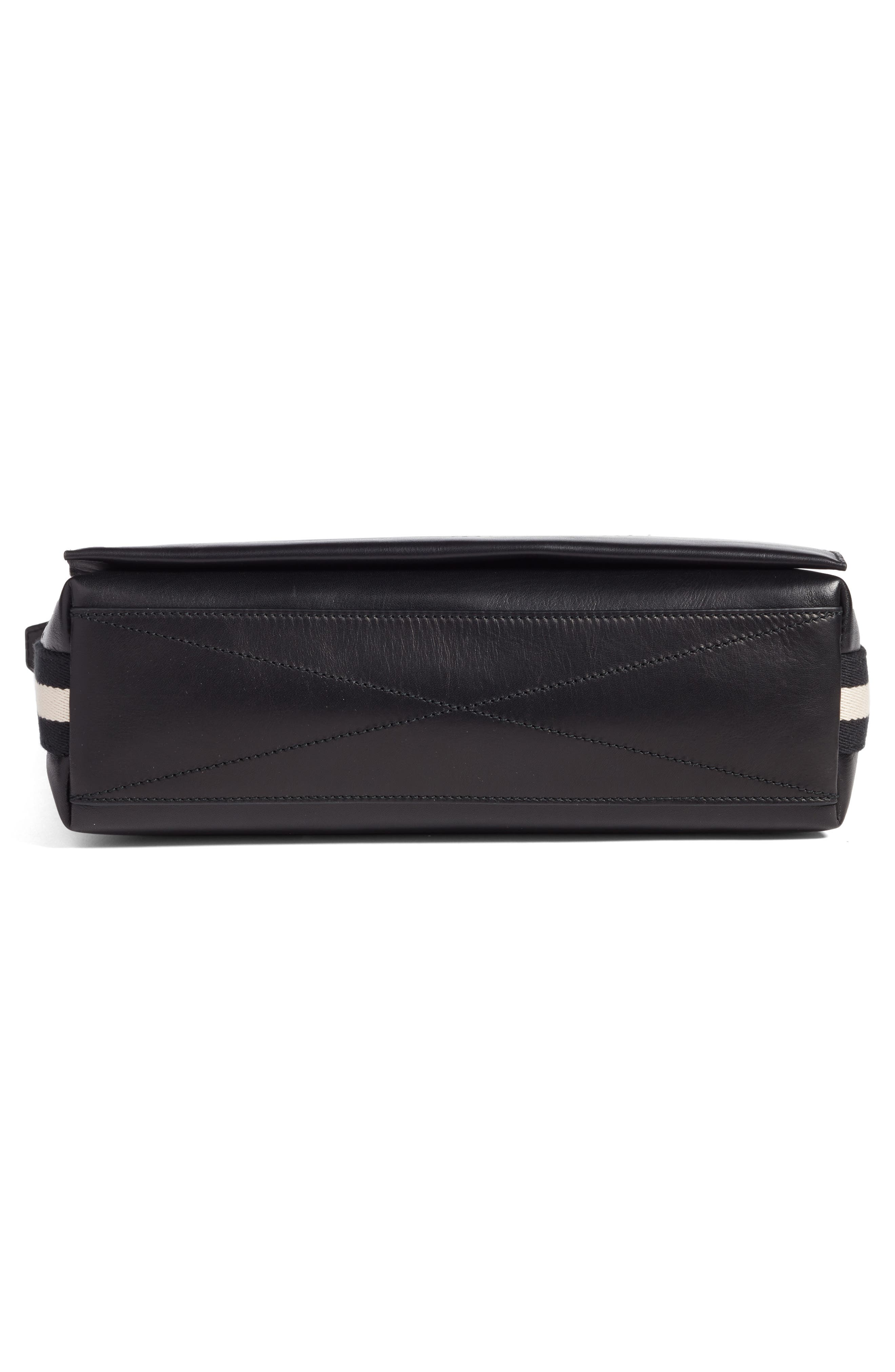 Tamrac Leather Messenger Bag,                             Alternate thumbnail 6, color,                             001