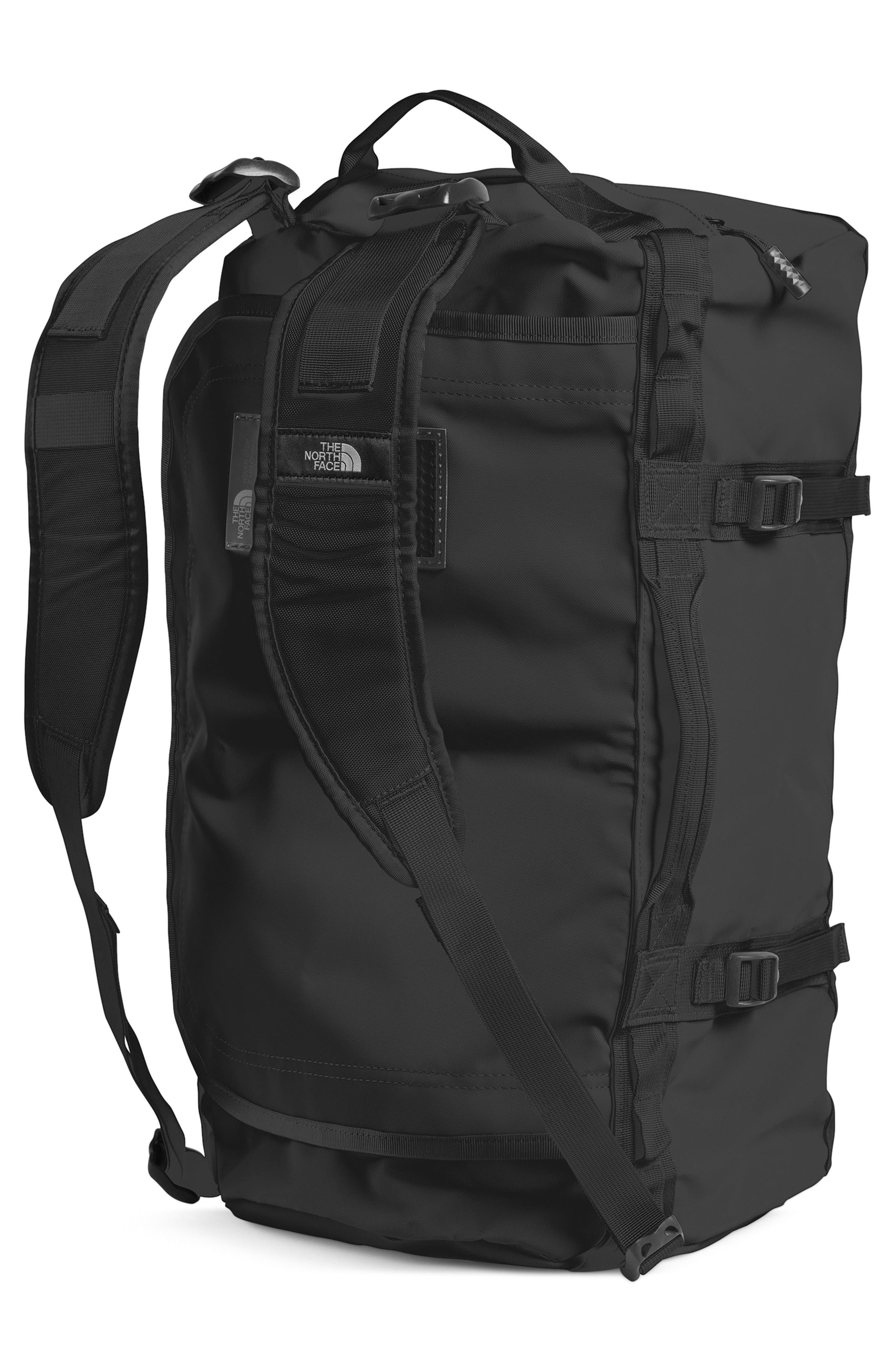 Base Camp Water Resistant Duffel Bag,                             Alternate thumbnail 2, color,                             TNF BLACK