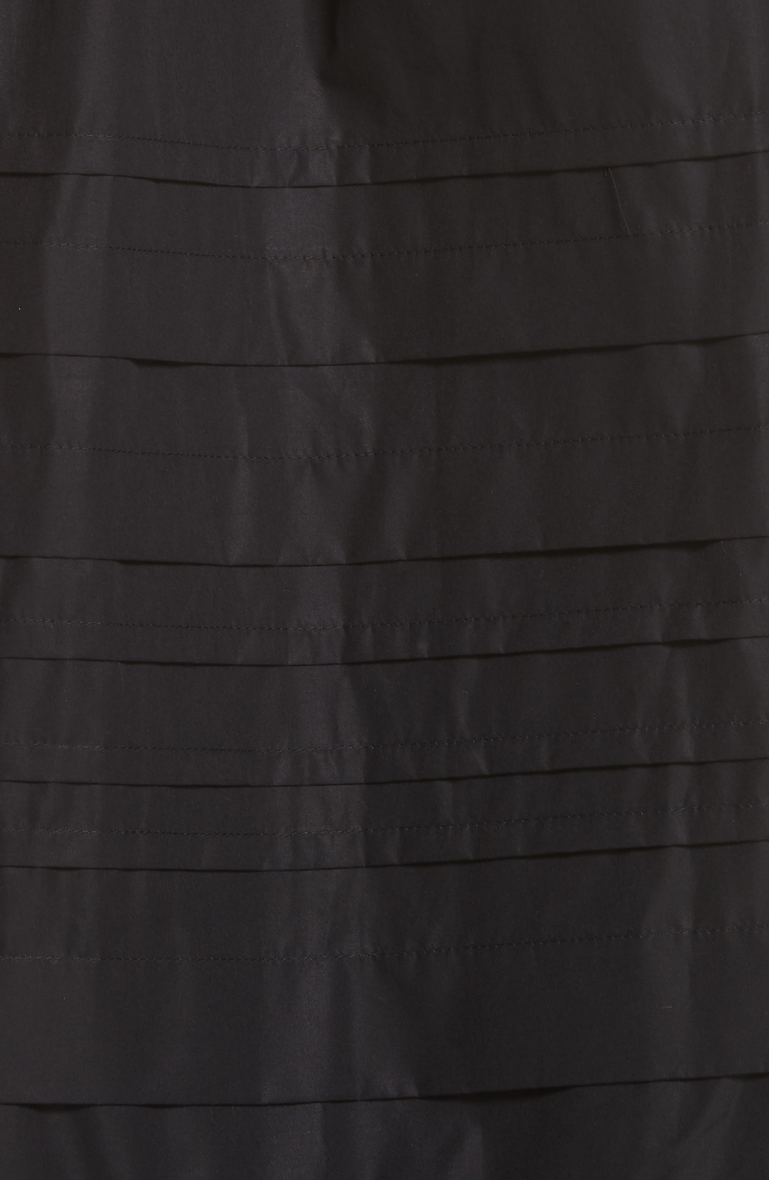 CECILIE BAHNSEN,                             Phoebe Dress,                             Alternate thumbnail 6, color,                             BLACK