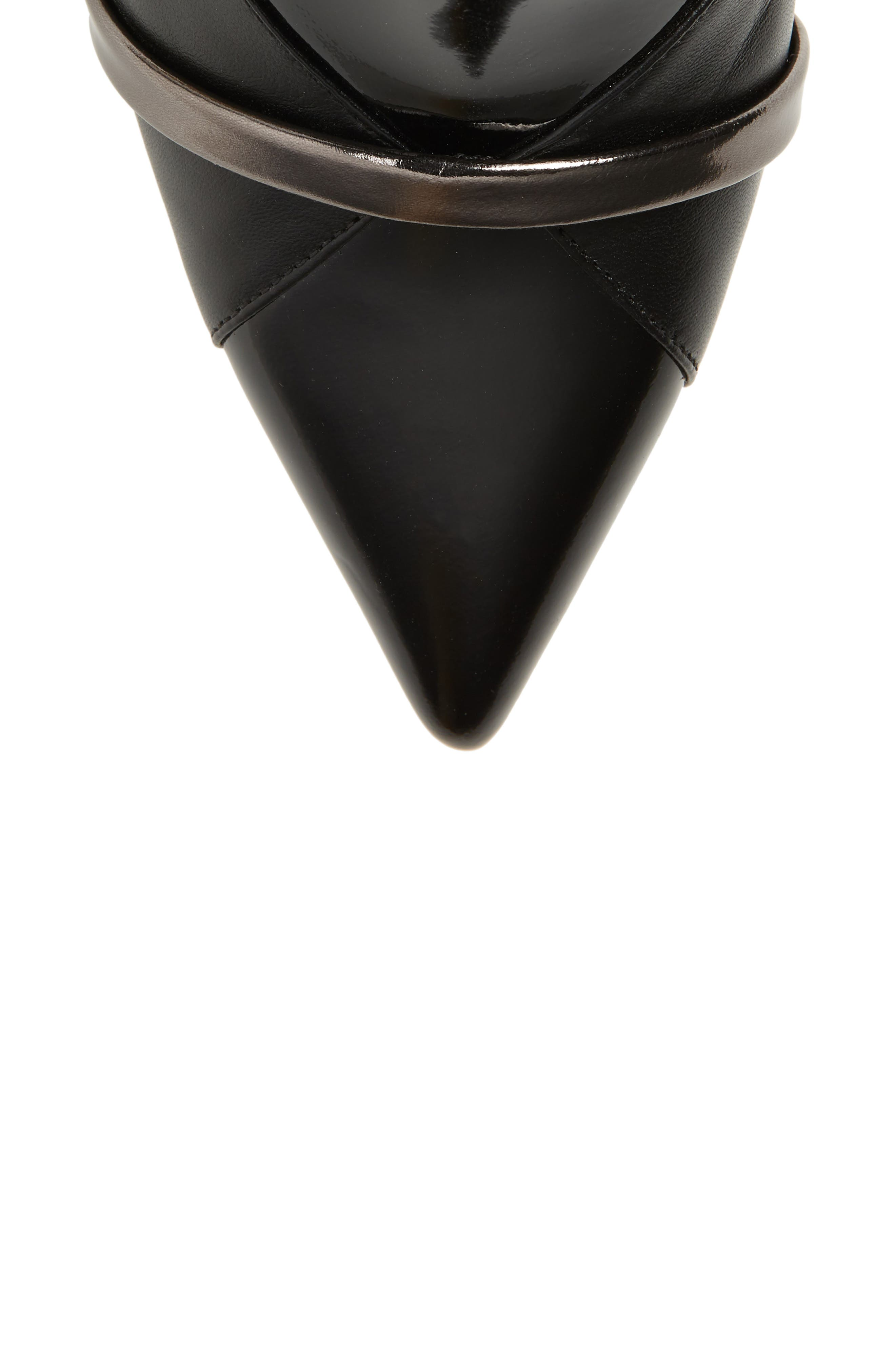 Romee Bootie,                             Alternate thumbnail 5, color,                             BLACK/ ANTHRACITE