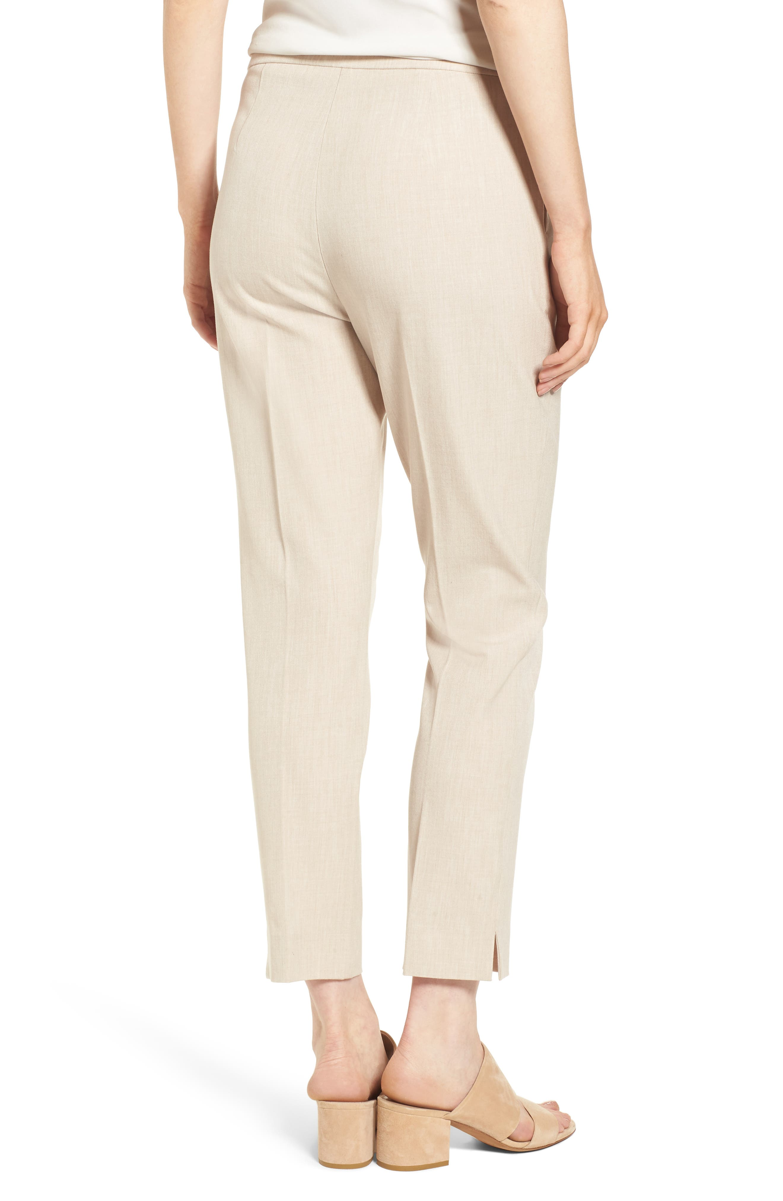 EILEEN FISHER,                             High Waist Tapered Pants,                             Alternate thumbnail 2, color,                             291