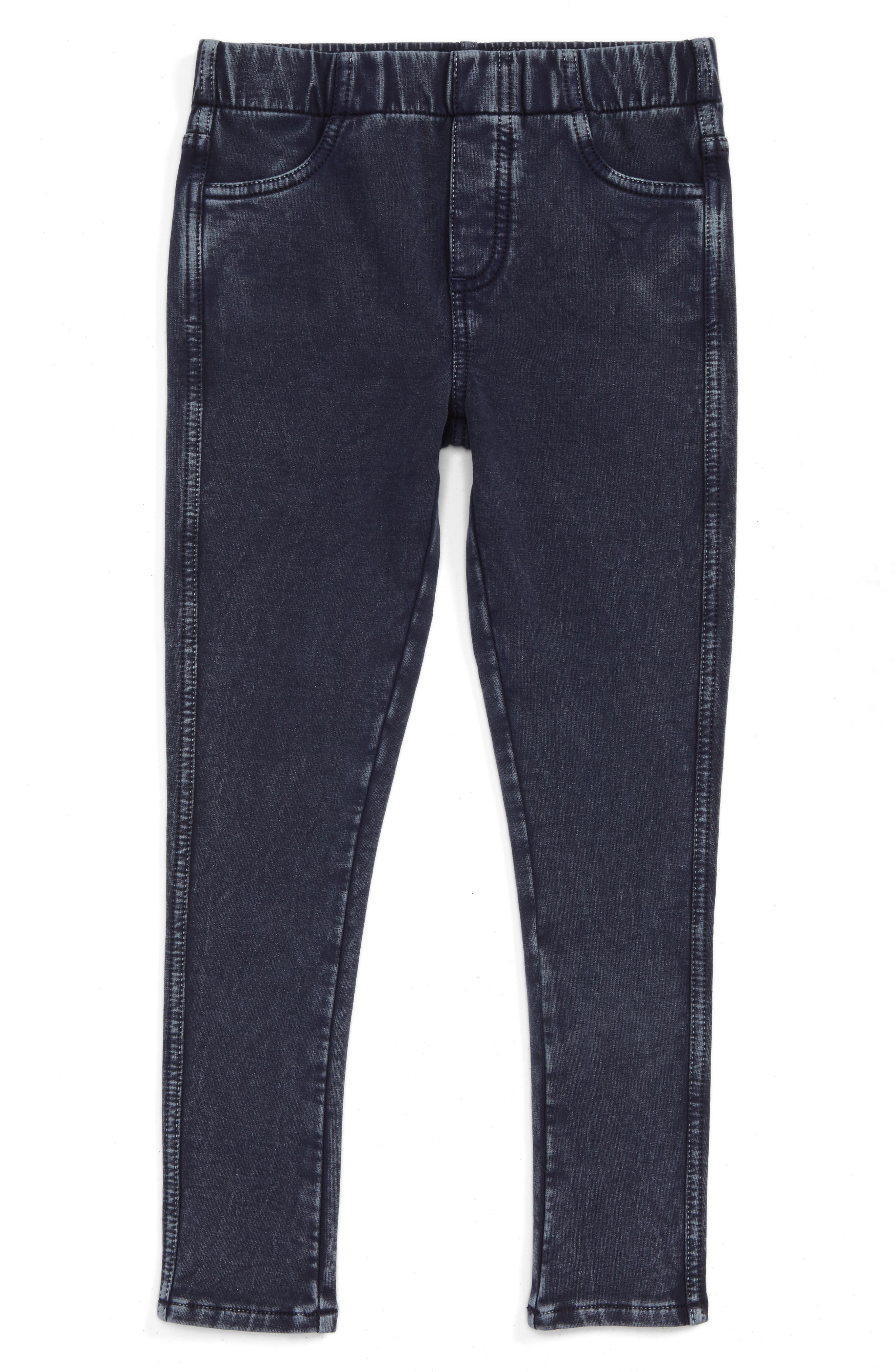 'Sadie' Jeggings,                             Main thumbnail 1, color,                             DARK INDIGO WASH