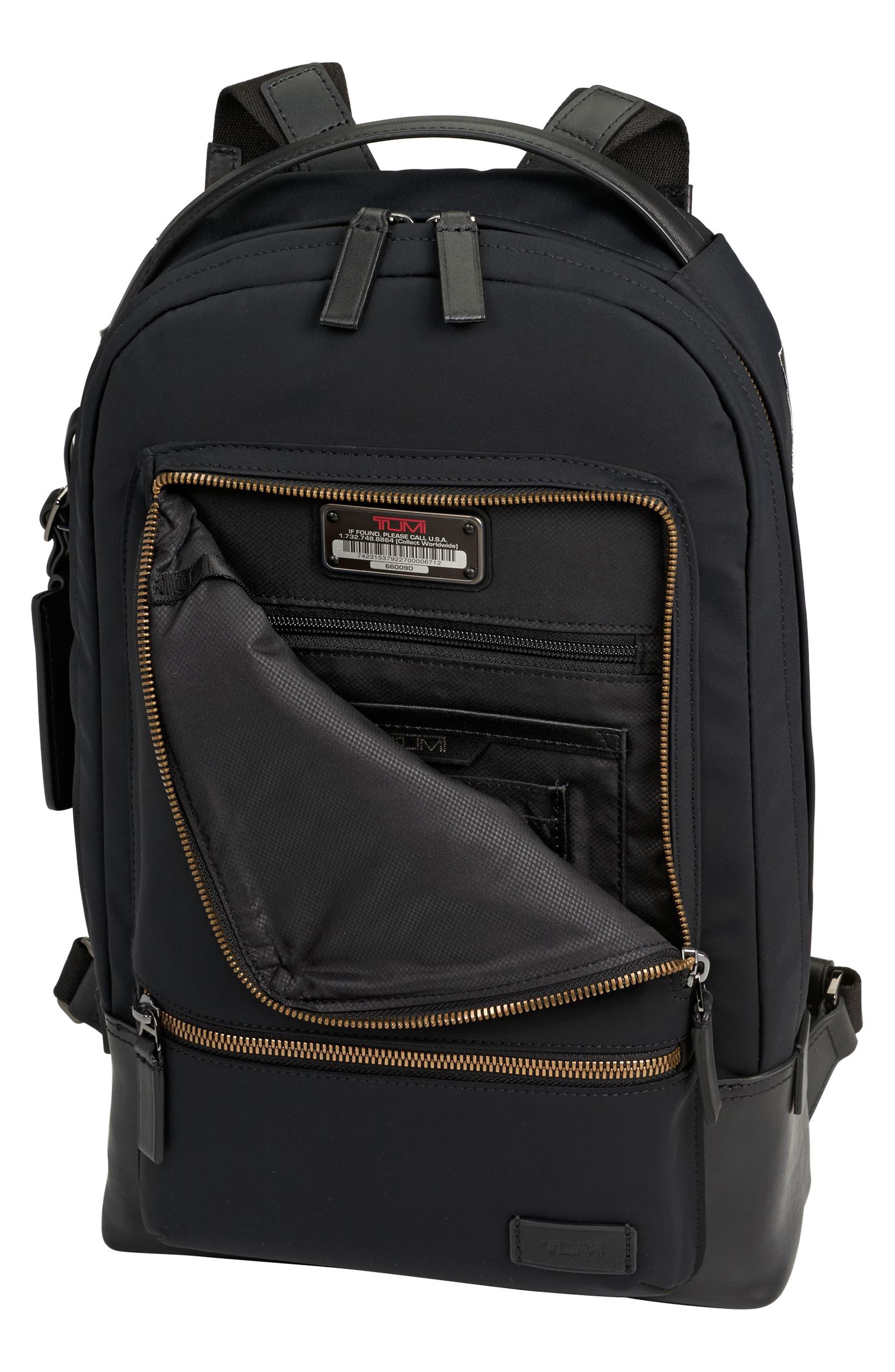 Harrison Windsor Backpack,                             Alternate thumbnail 3, color,                             001