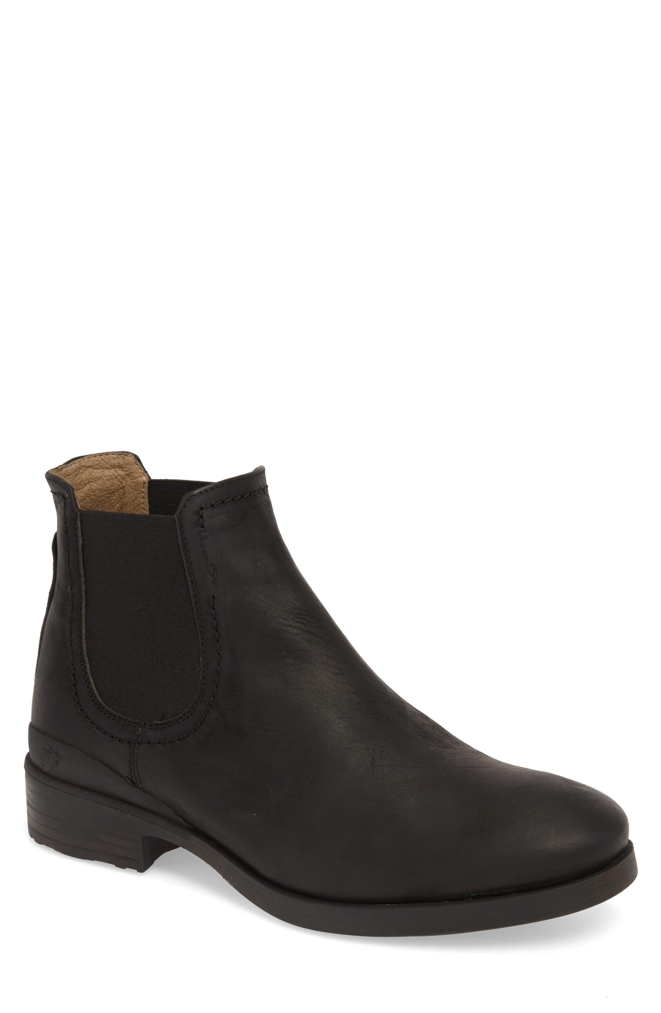 Meko Chelsea Boot,                             Main thumbnail 1, color,                             BLACK BANDOLERO