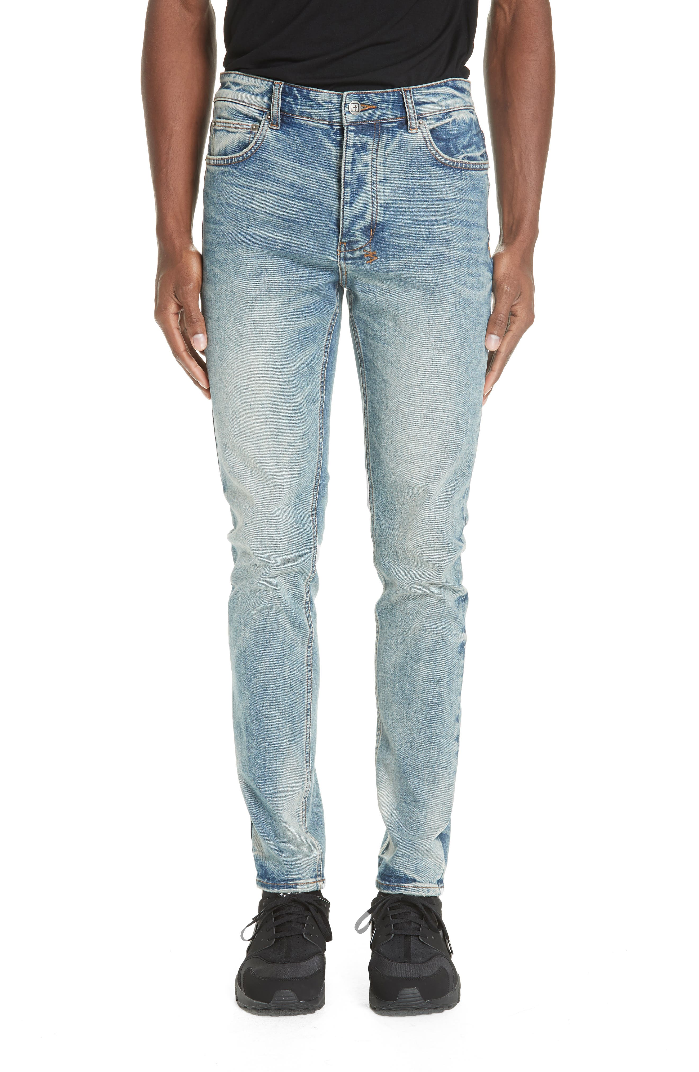 Chitch Pure Dynamite Skinny Fit Jeans,                             Main thumbnail 1, color,                             DENIM