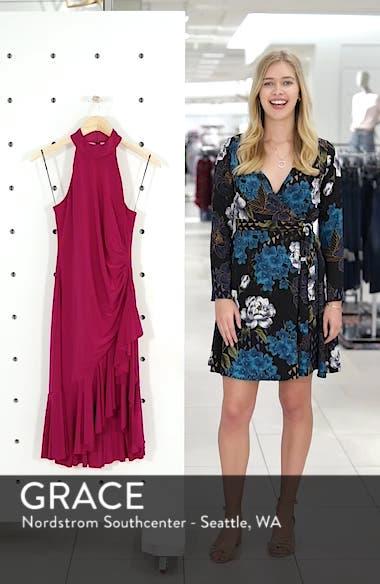 Halter Cascade Dress, sales video thumbnail