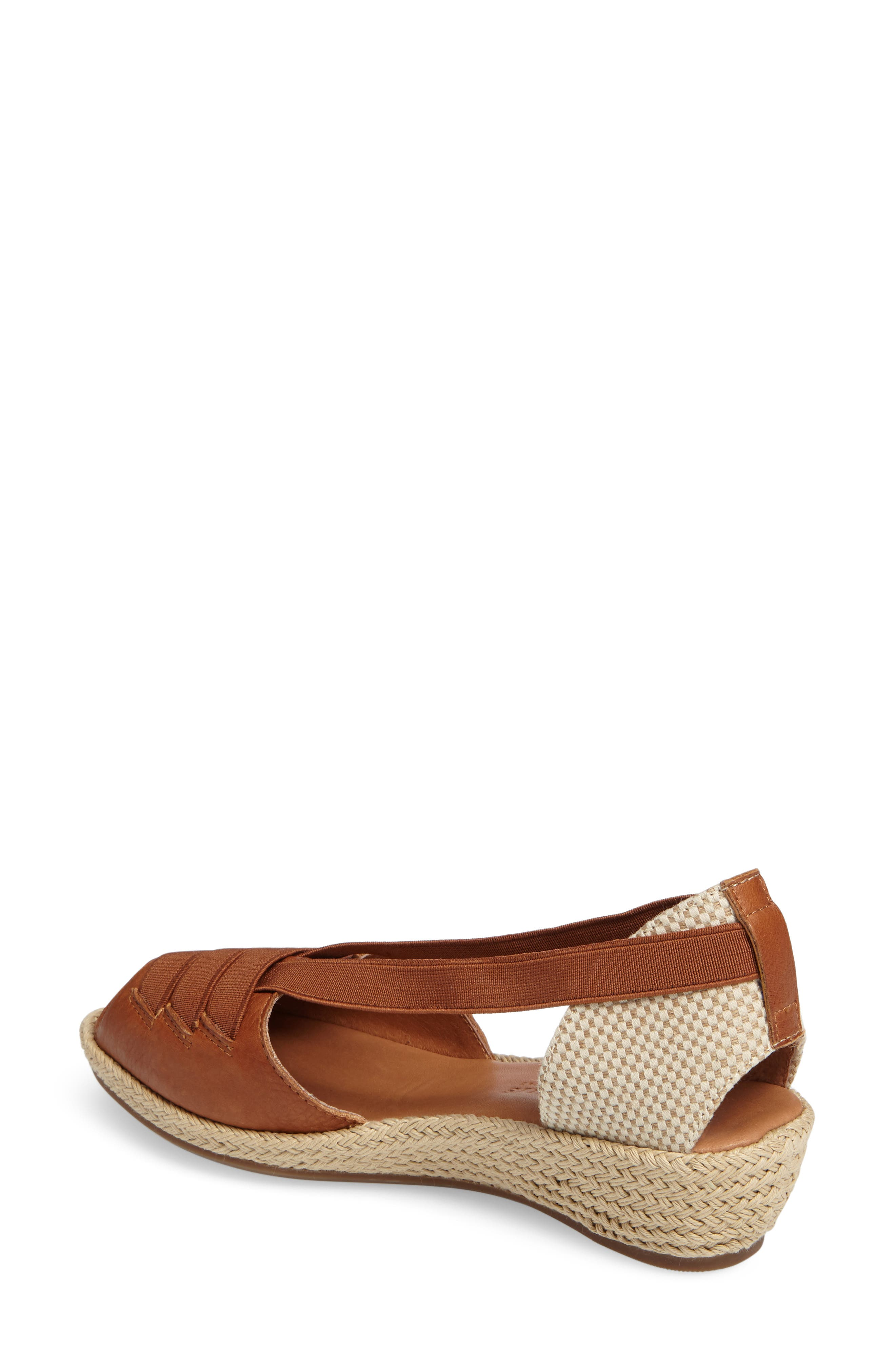 by Kenneth Cole Luci Wedge Sandal,                             Alternate thumbnail 8, color,