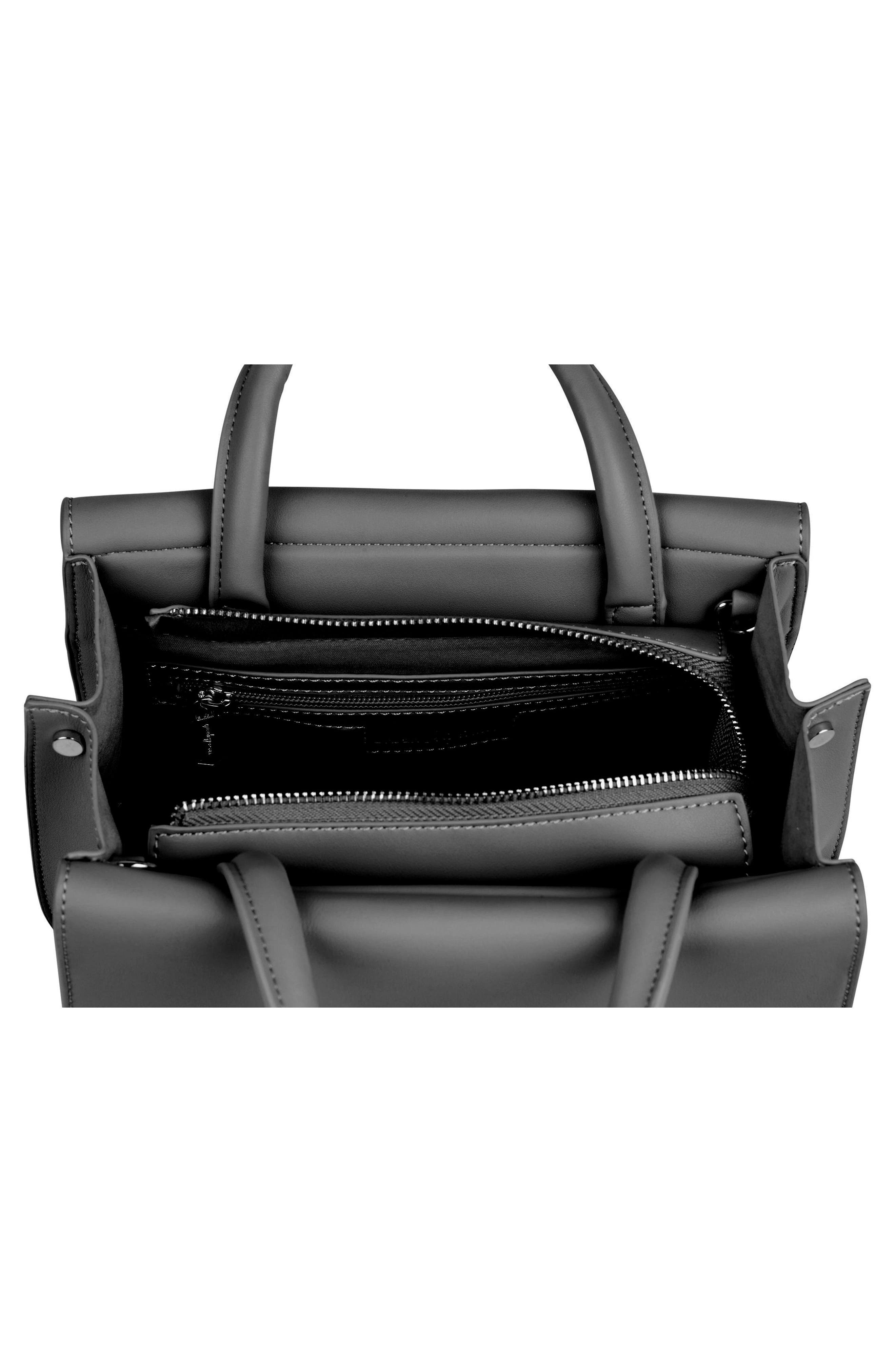 Ethereal Vegan Leather Tote,                             Alternate thumbnail 2, color,                             BLACK