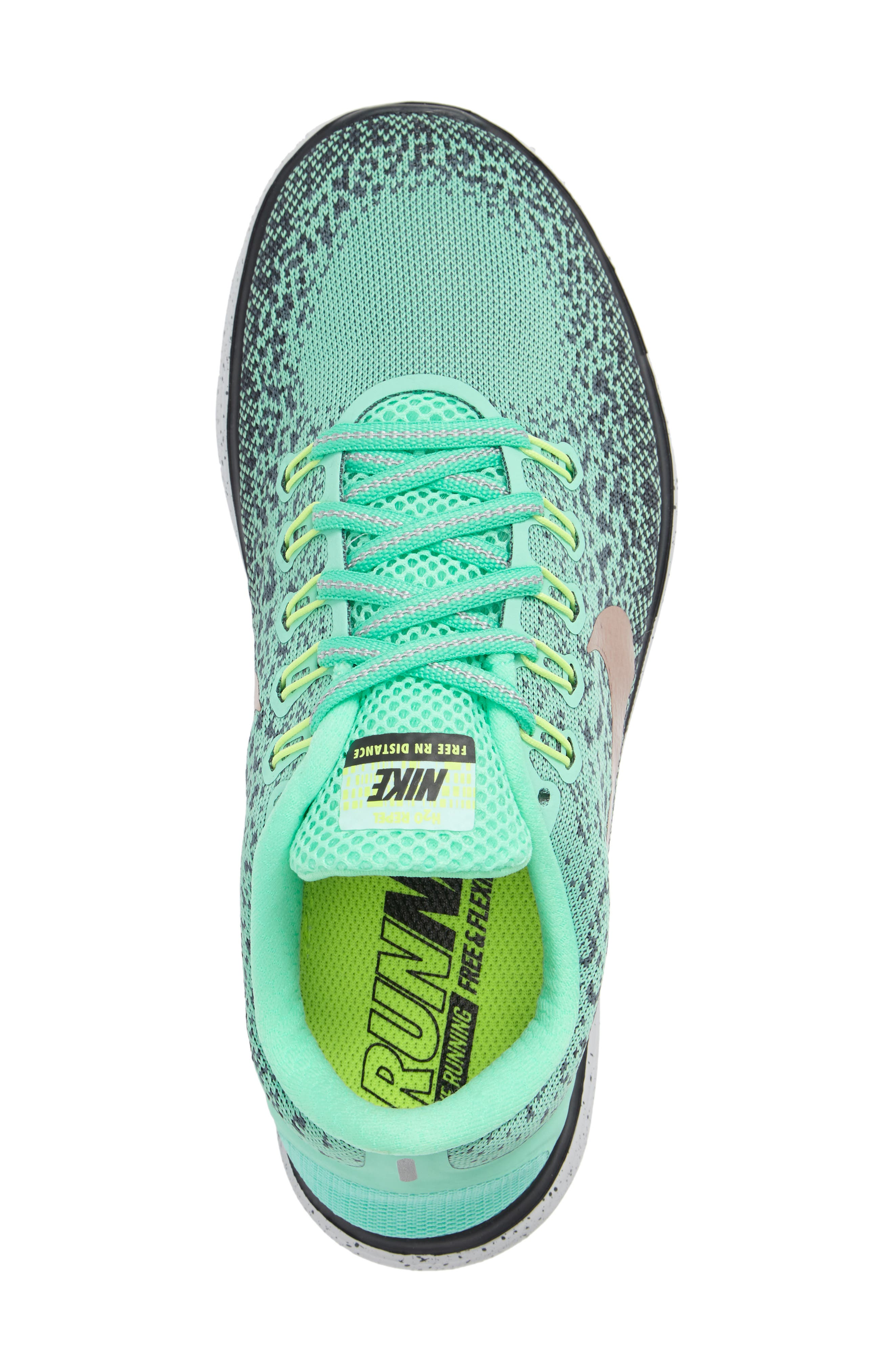 Free RN Distance Shield Running Shoe,                             Alternate thumbnail 9, color,