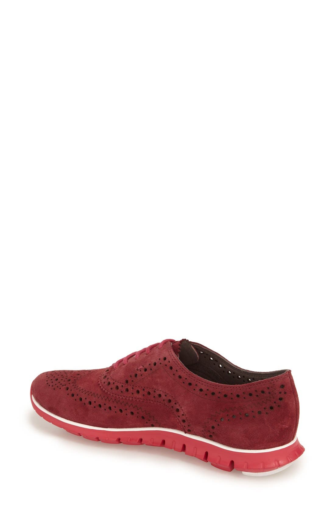 'ZeroGrand' Perforated Wingtip,                             Alternate thumbnail 85, color,