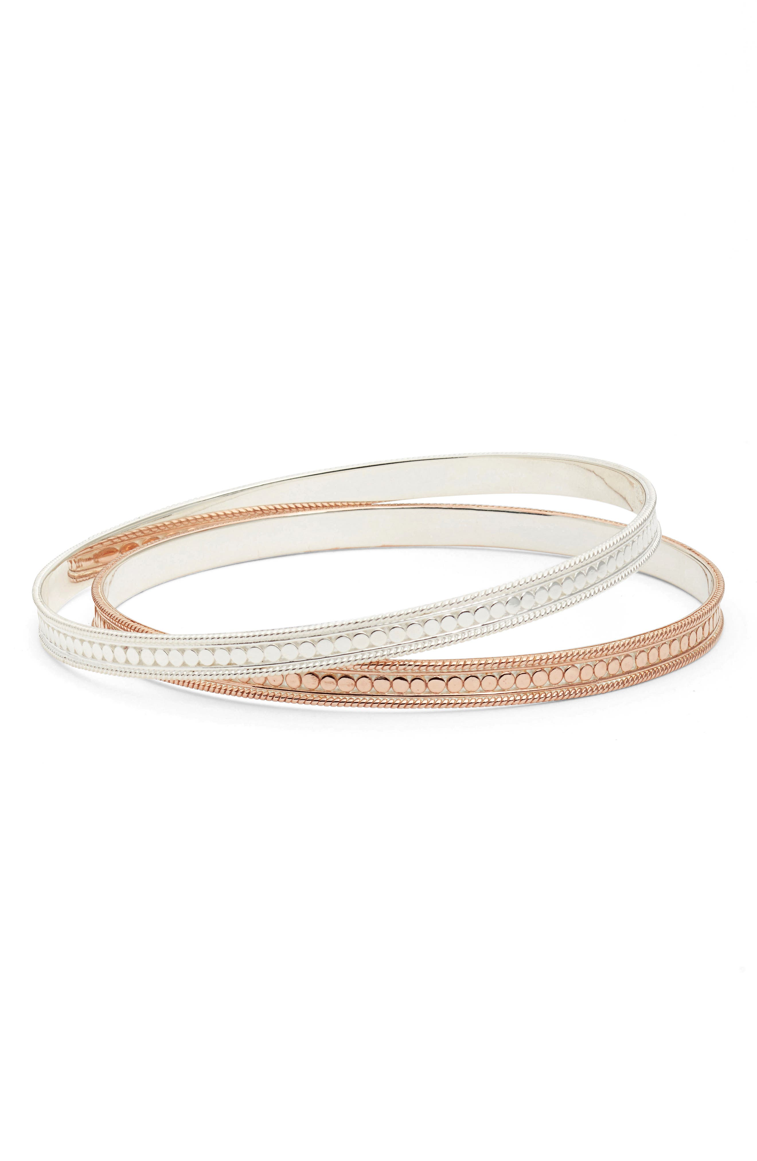 Set of 2 Bangle Bracelets,                             Main thumbnail 1, color,                             712
