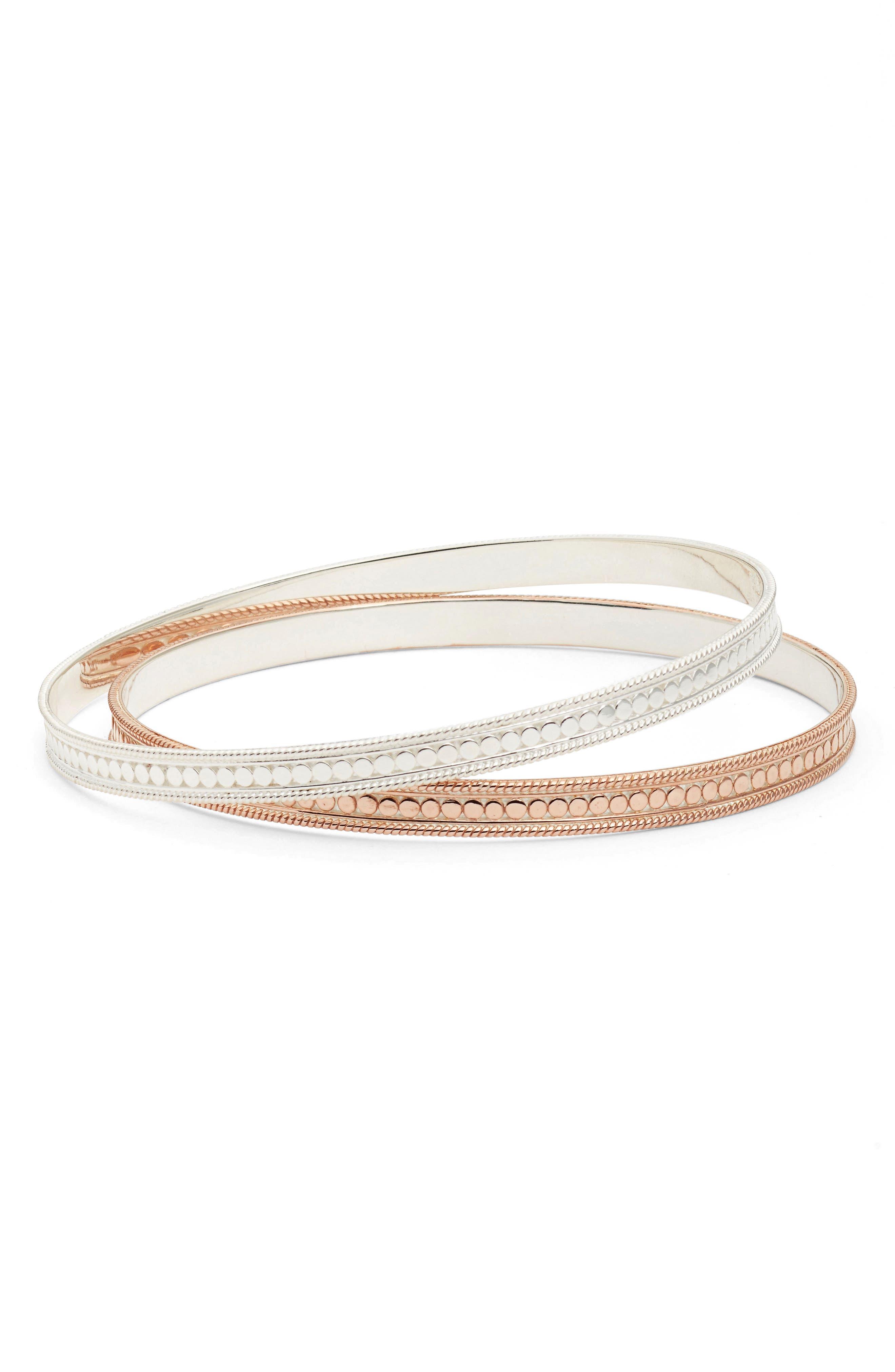 Set of 2 Bangle Bracelets,                         Main,                         color, 712