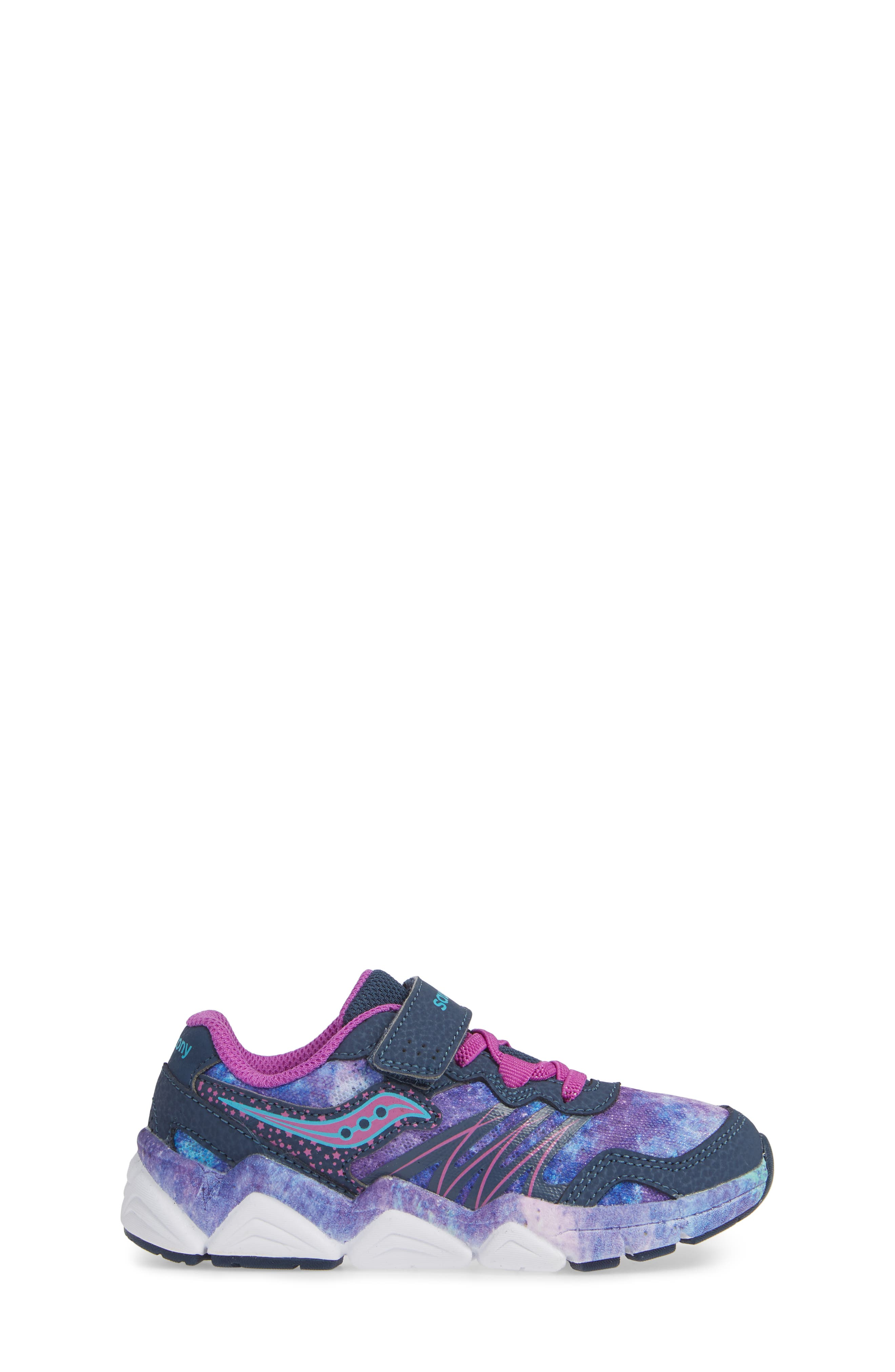 Kotaro Flash Sneaker,                             Alternate thumbnail 3, color,                             PURPLE LEATHER/ MESH