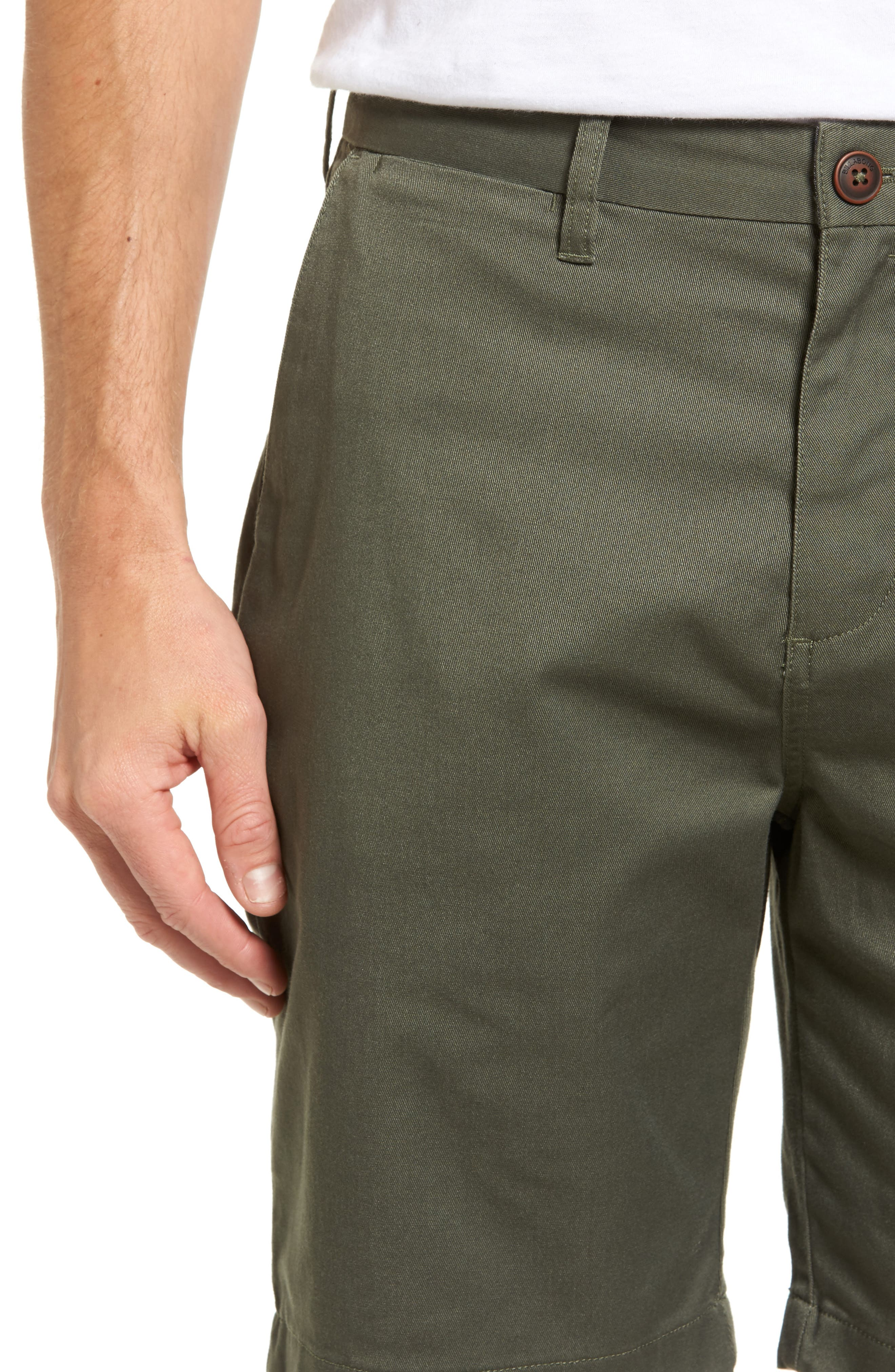 Carter Stretch Twill Shorts,                             Alternate thumbnail 15, color,