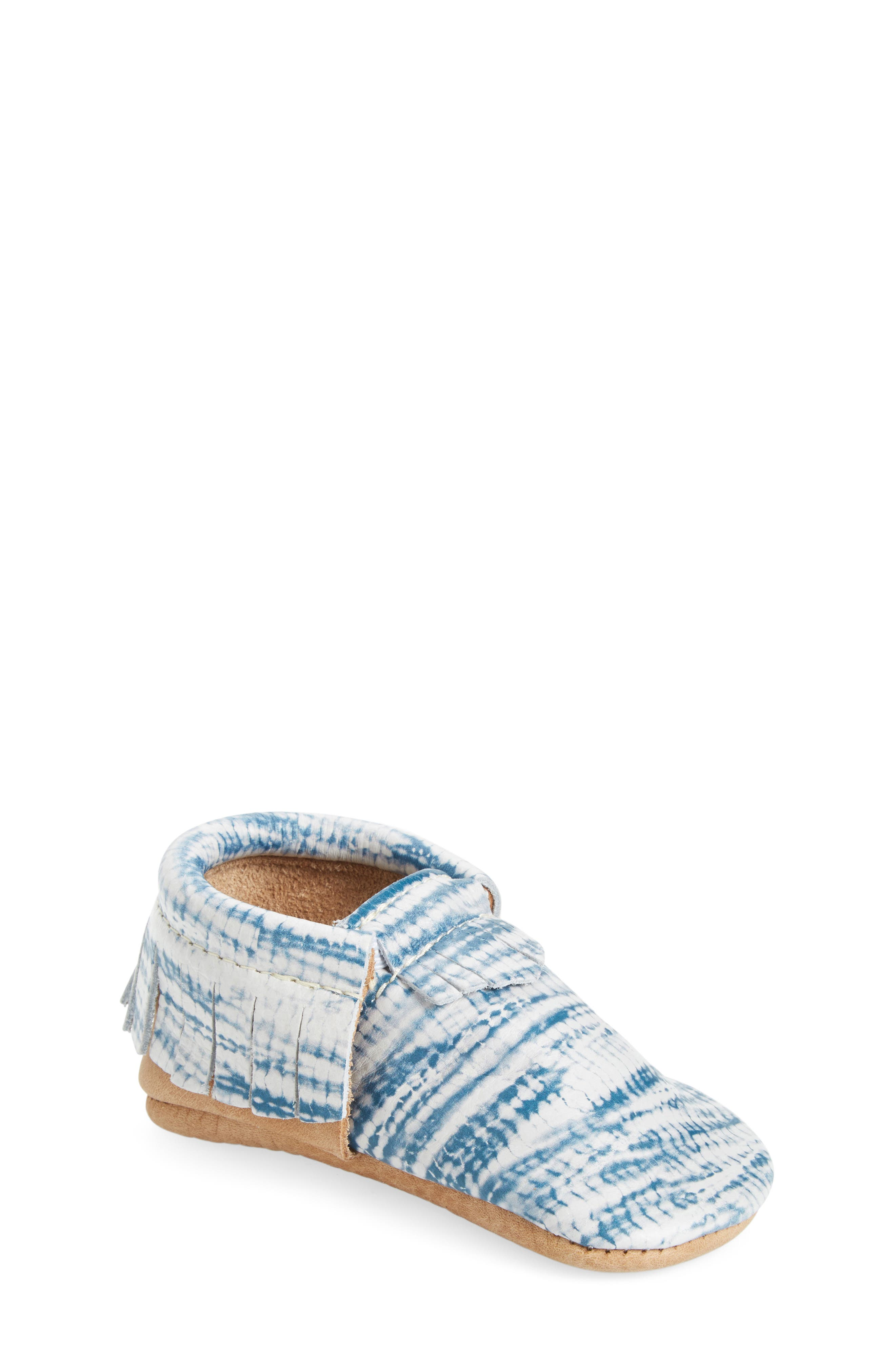 Tie Dye Moccasin,                             Main thumbnail 1, color,                             402