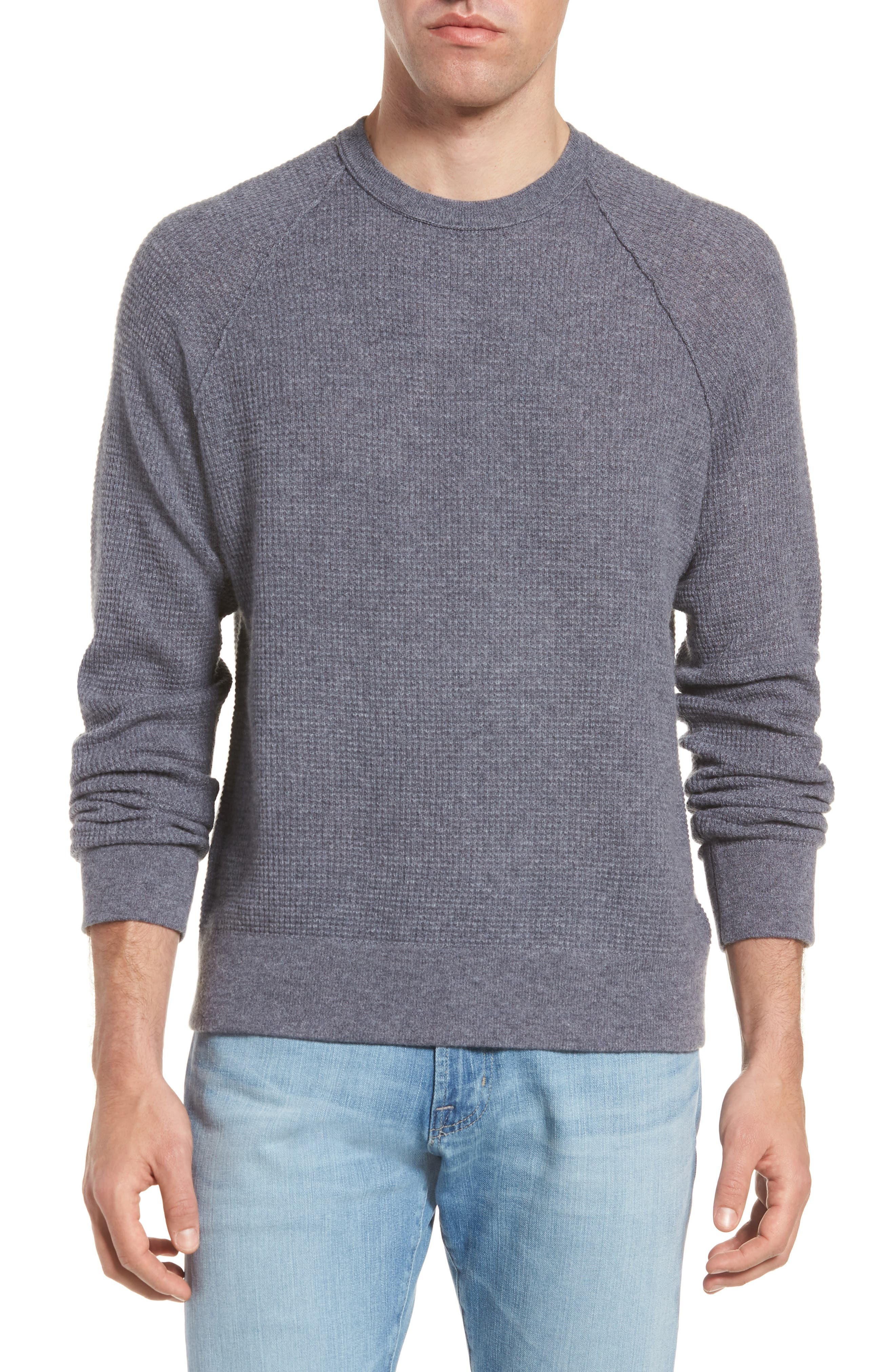 Thermal Cashmere Sweater,                             Main thumbnail 1, color,                             077