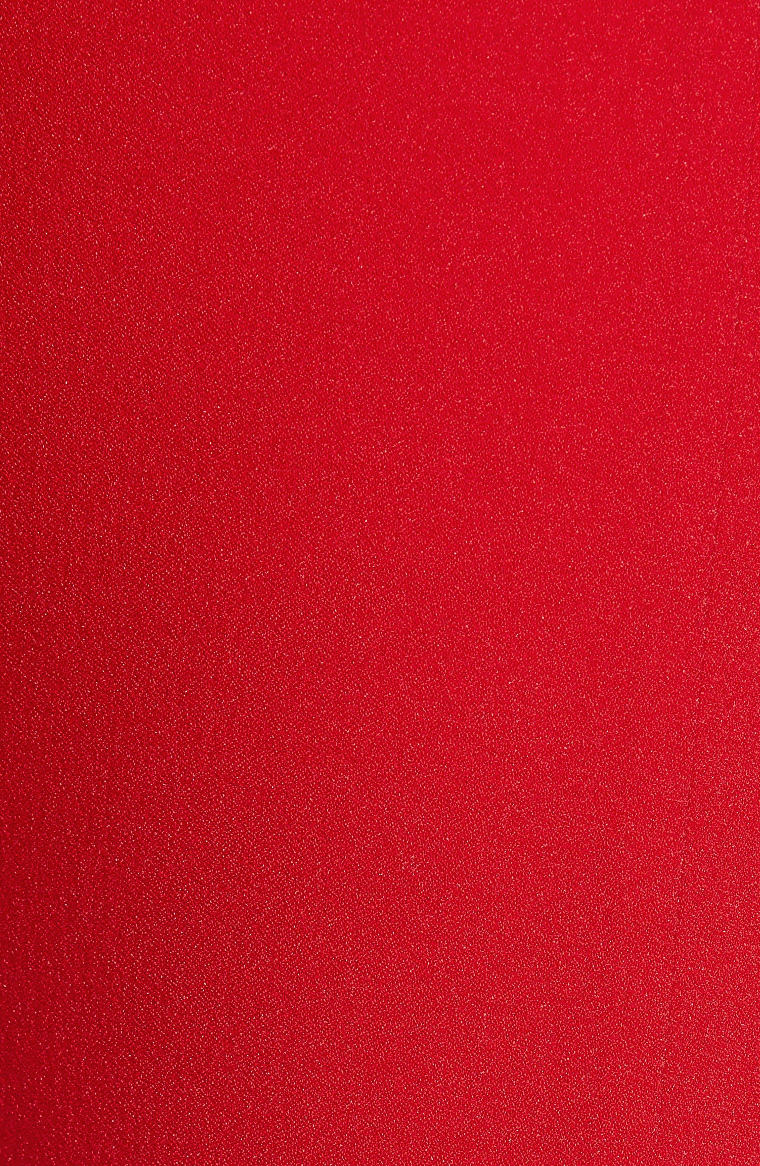 TIGER MIST,                             Kinsley Crop Top,                             Alternate thumbnail 5, color,                             RED