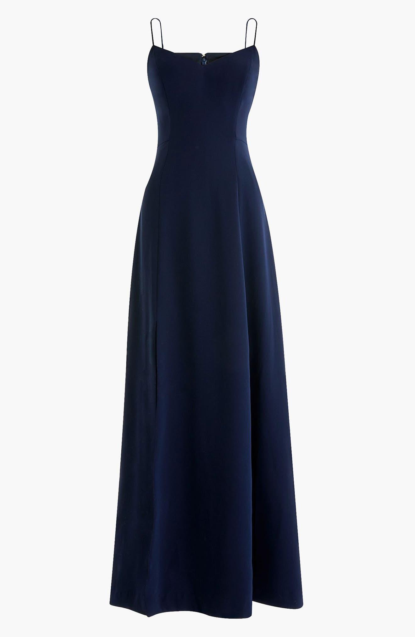 Side Slit Sleeveless Maxi Dress,                             Alternate thumbnail 3, color,                             401