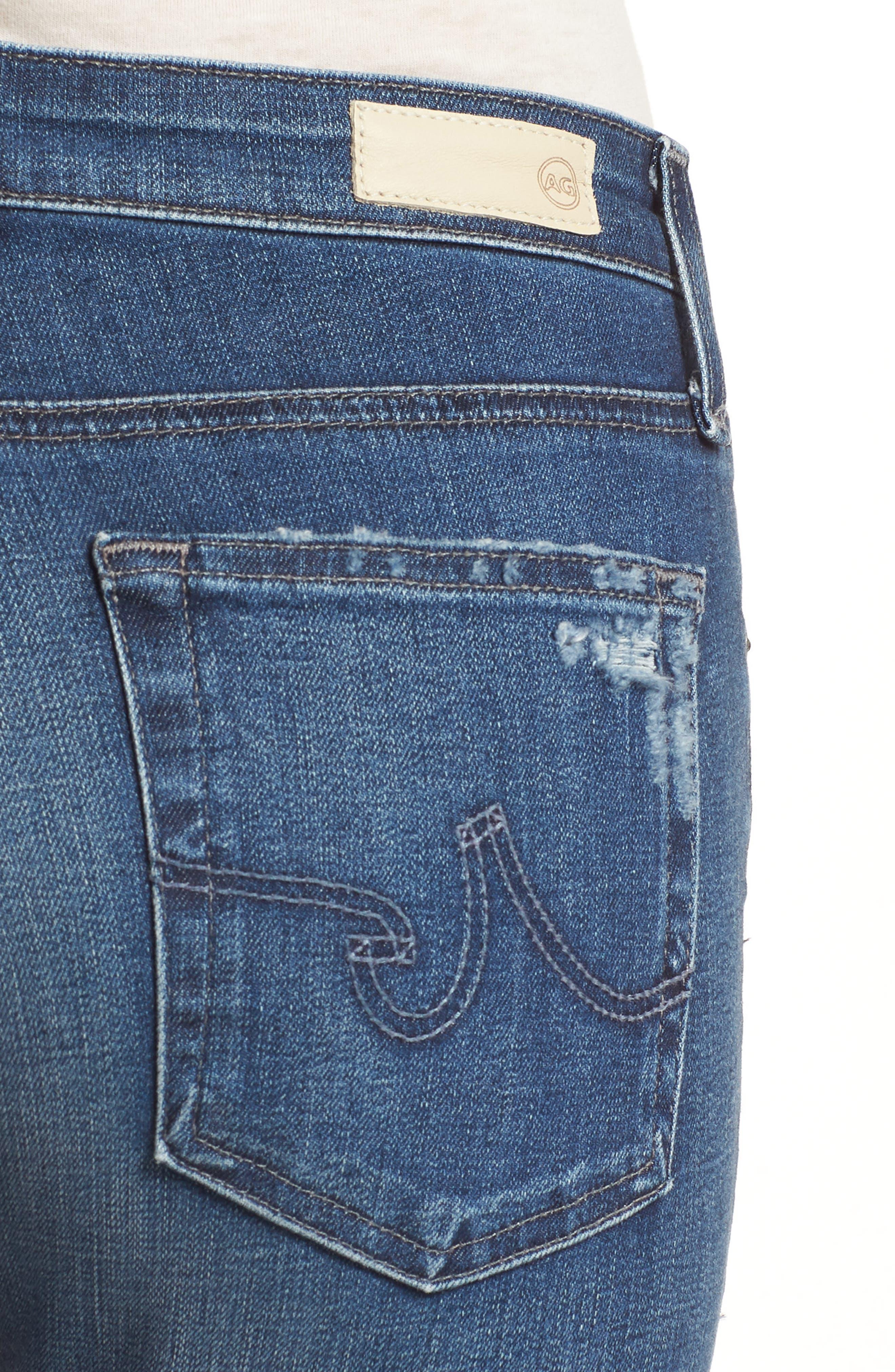 'The Farrah' High Rise Skinny Jeans,                             Alternate thumbnail 34, color,