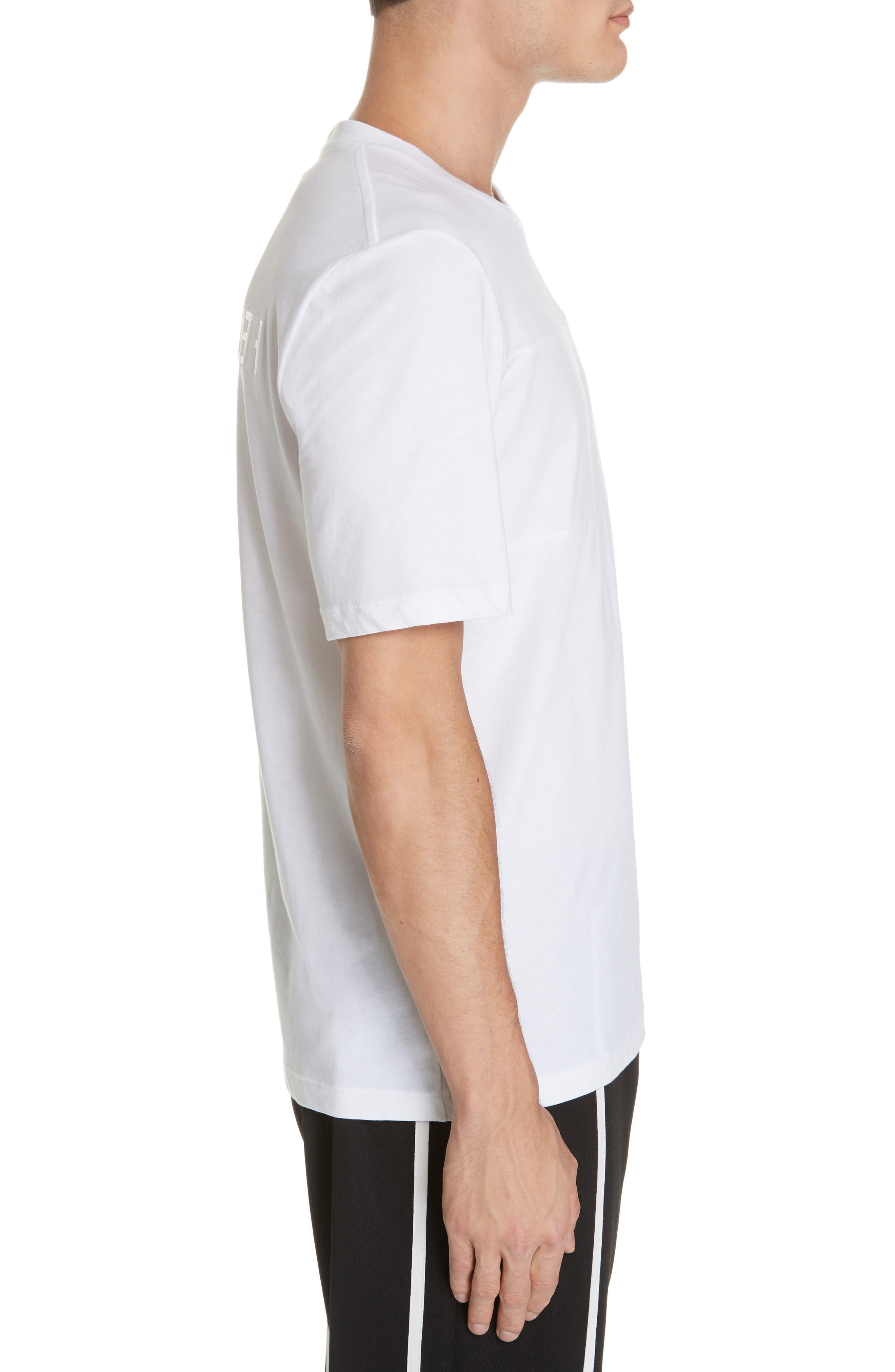 Band Logo T-Shirt,                             Alternate thumbnail 3, color,                             WHITE