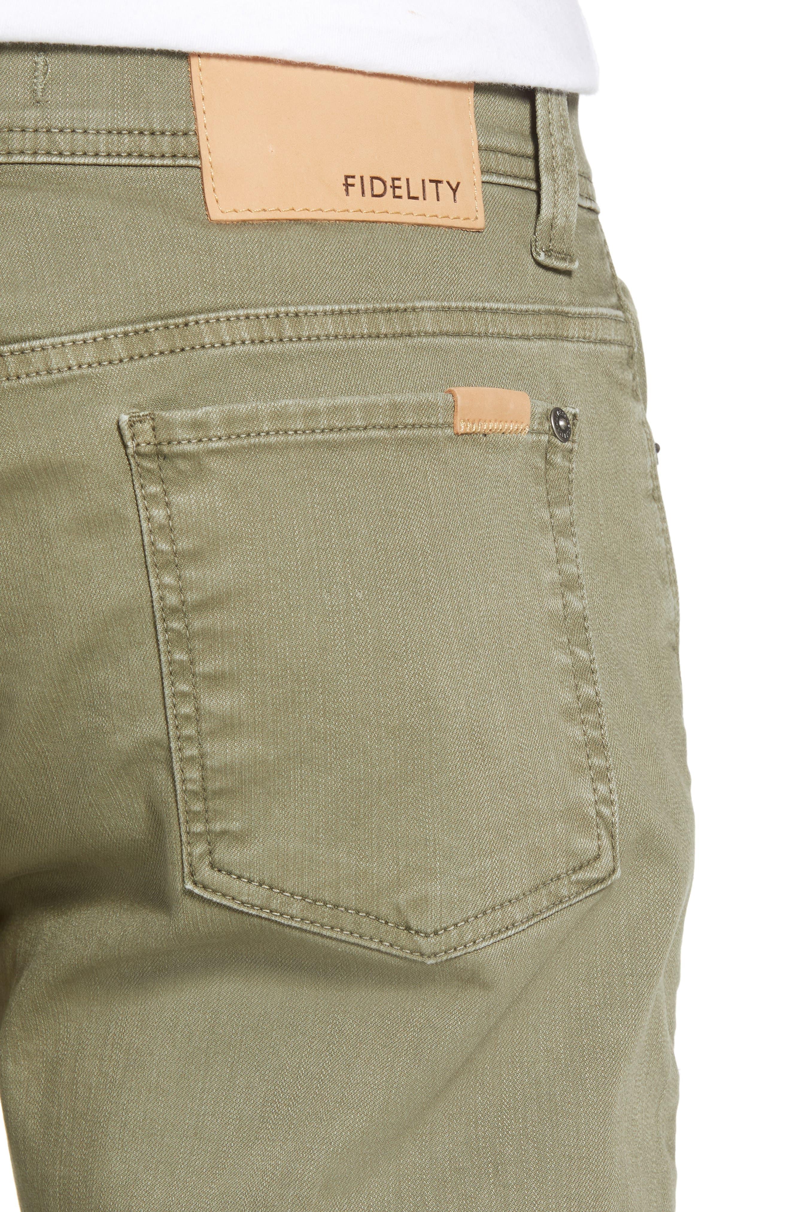 Jimmy Slim Straight Leg Jeans,                             Alternate thumbnail 4, color,                             300