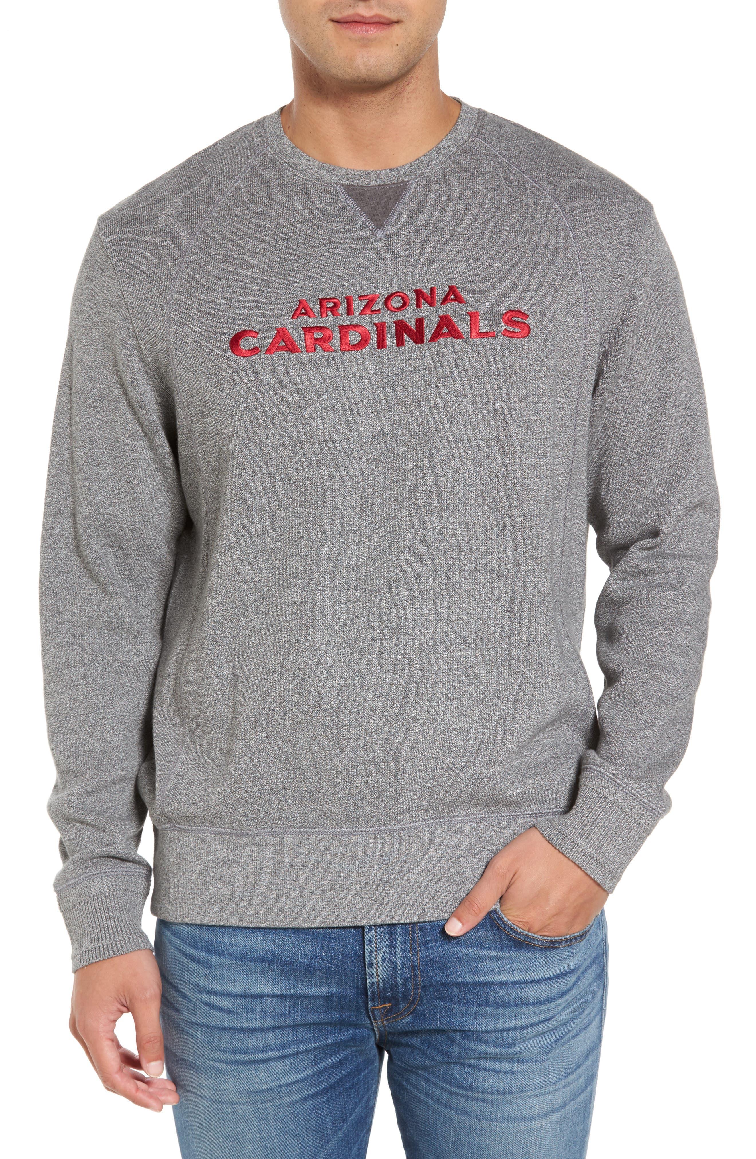 NFL Stitch of Liberty Embroidered Crewneck Sweatshirt,                             Main thumbnail 2, color,