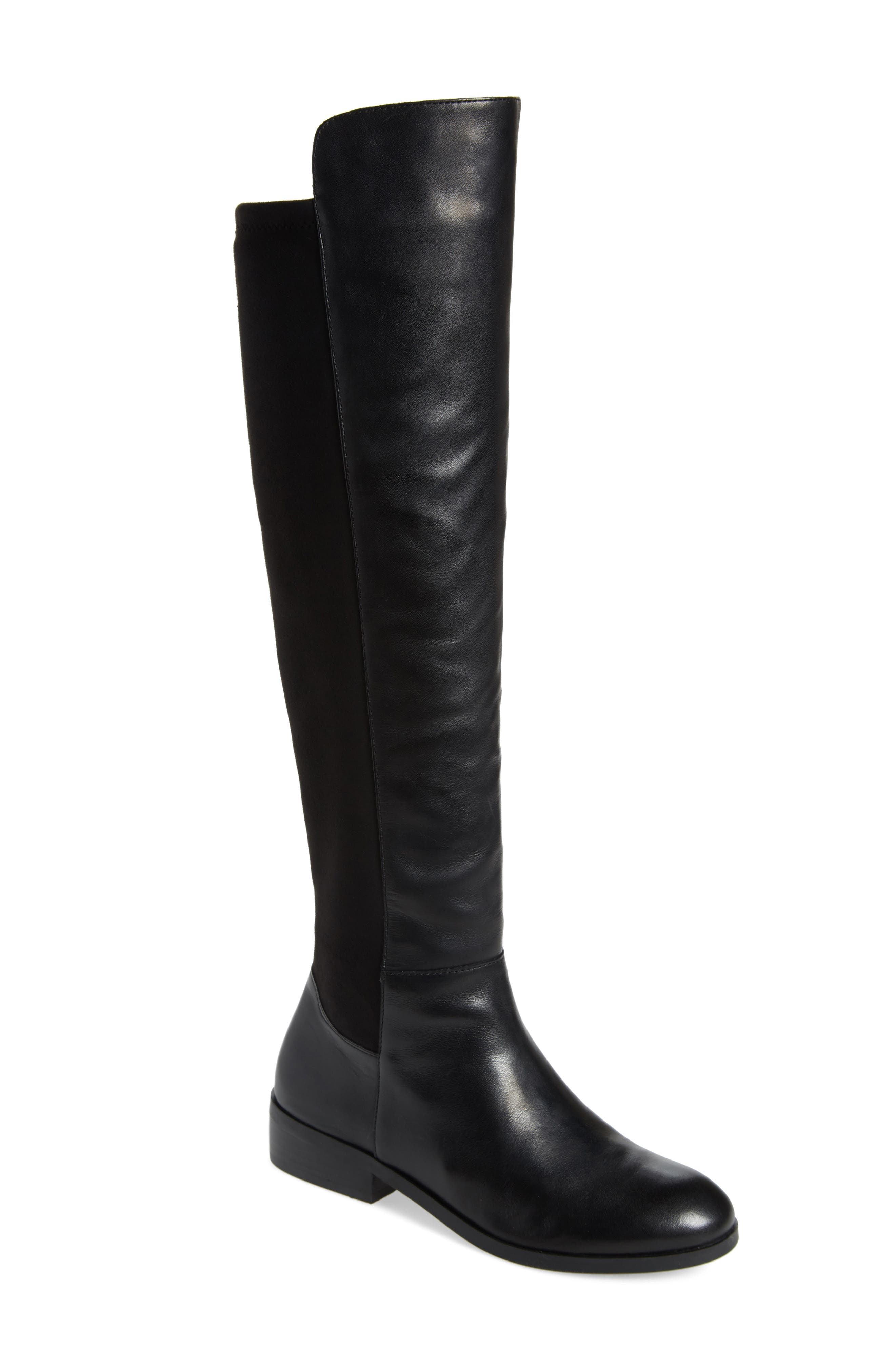 Calypso Over the Knee Boot,                             Main thumbnail 1, color,                             001
