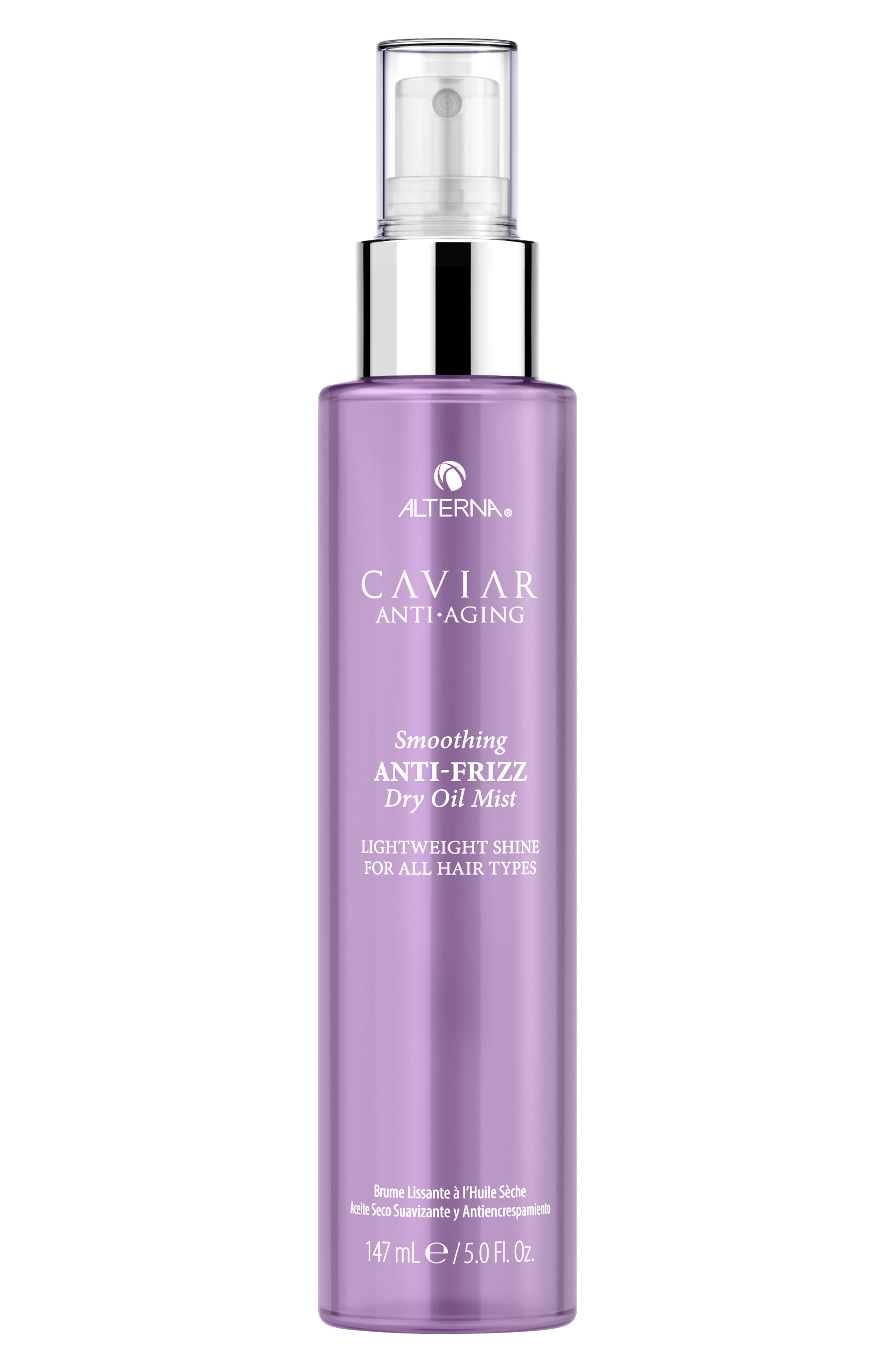 Caviar Anti-Aging Smoothing Anti-Frizz Dry Oil Mist,                         Main,                         color, NO COLOR