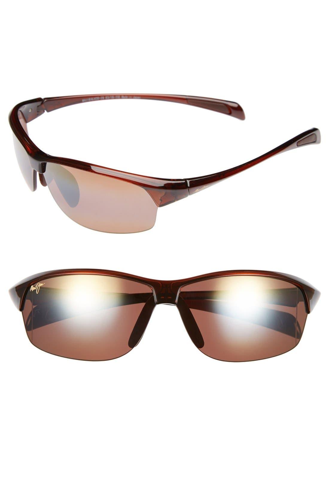 River Jetty 63mm PolarizedPlus2<sup>®</sup> Sunglasses,                             Main thumbnail 1, color,                             200