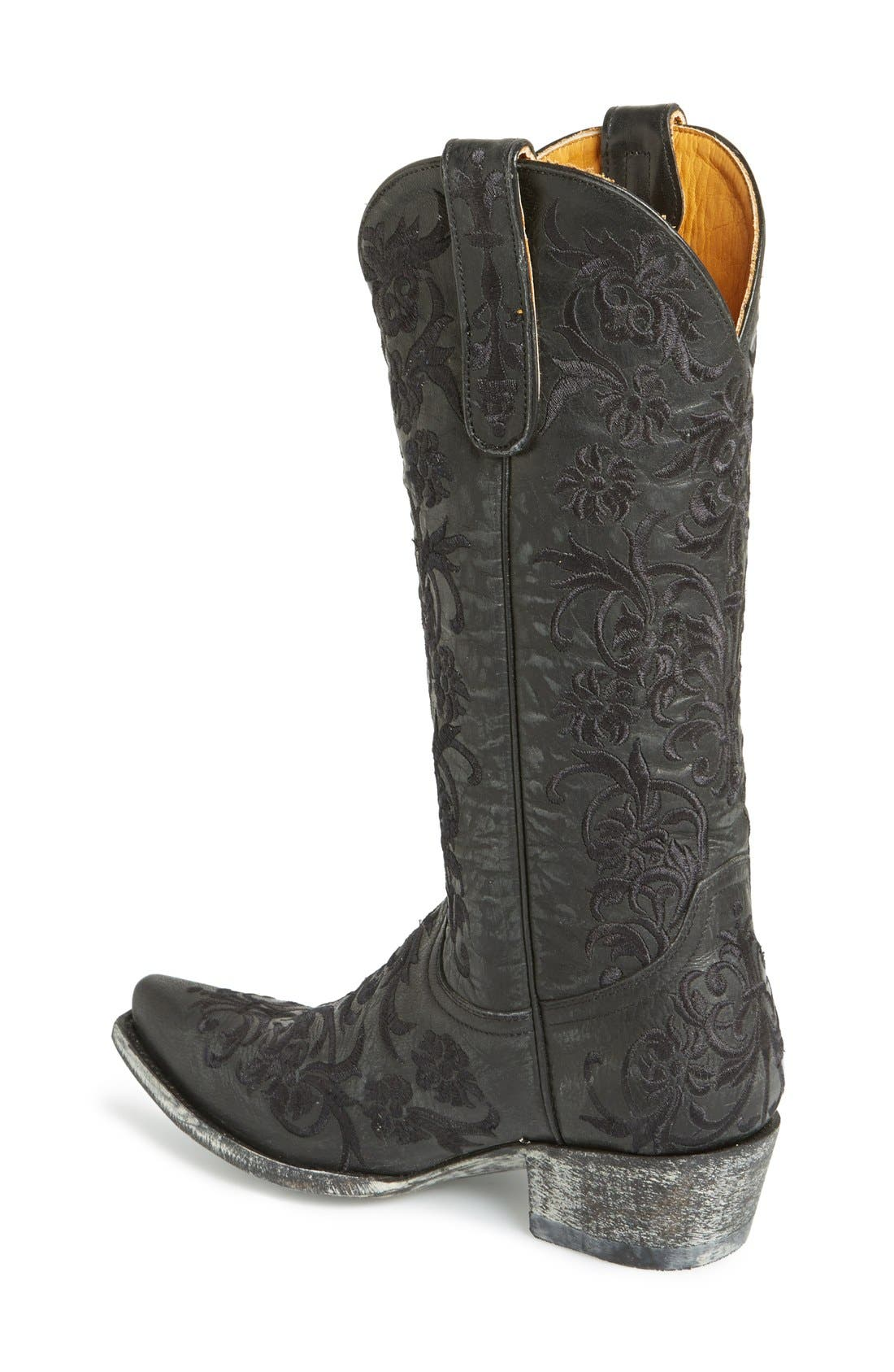 'Clarise' Boot,                             Alternate thumbnail 4, color,                             005