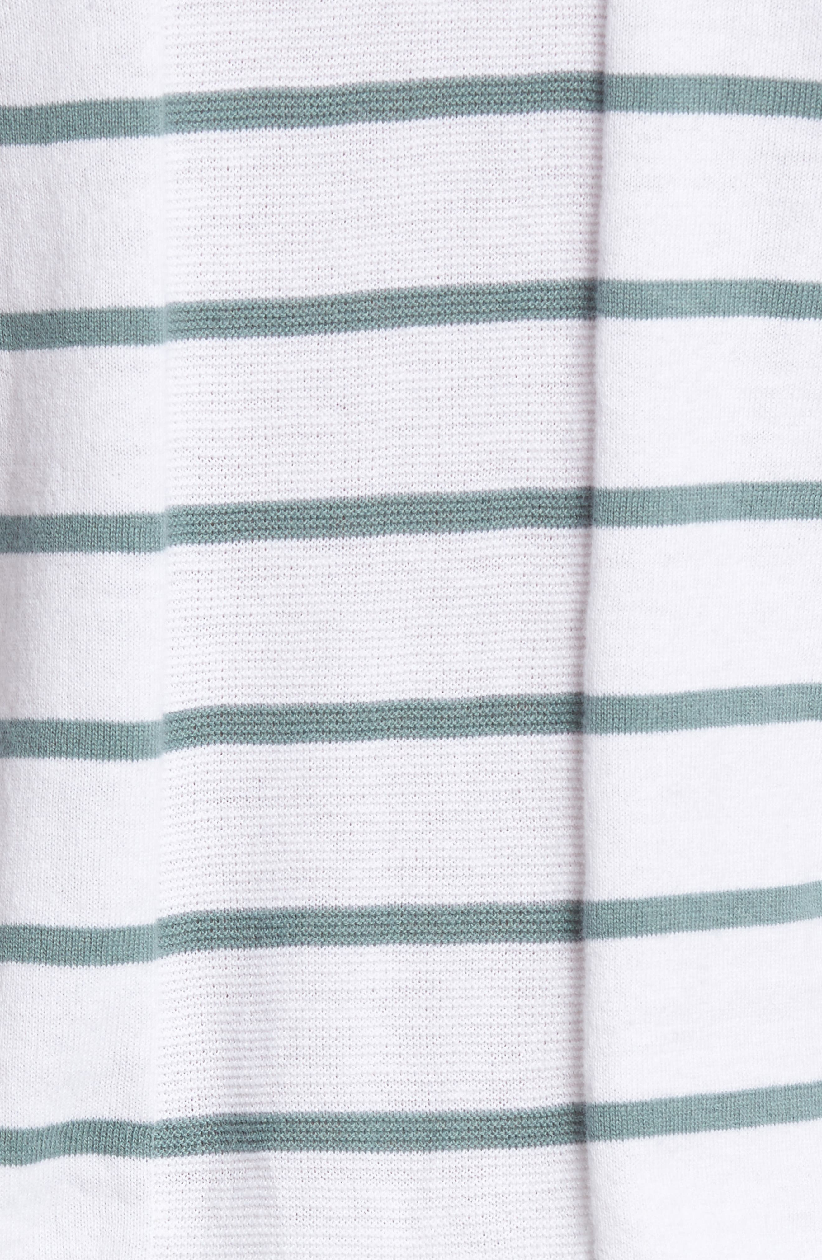 The Farrell Stripe V-Neck Sweater,                             Alternate thumbnail 5, color,                             111