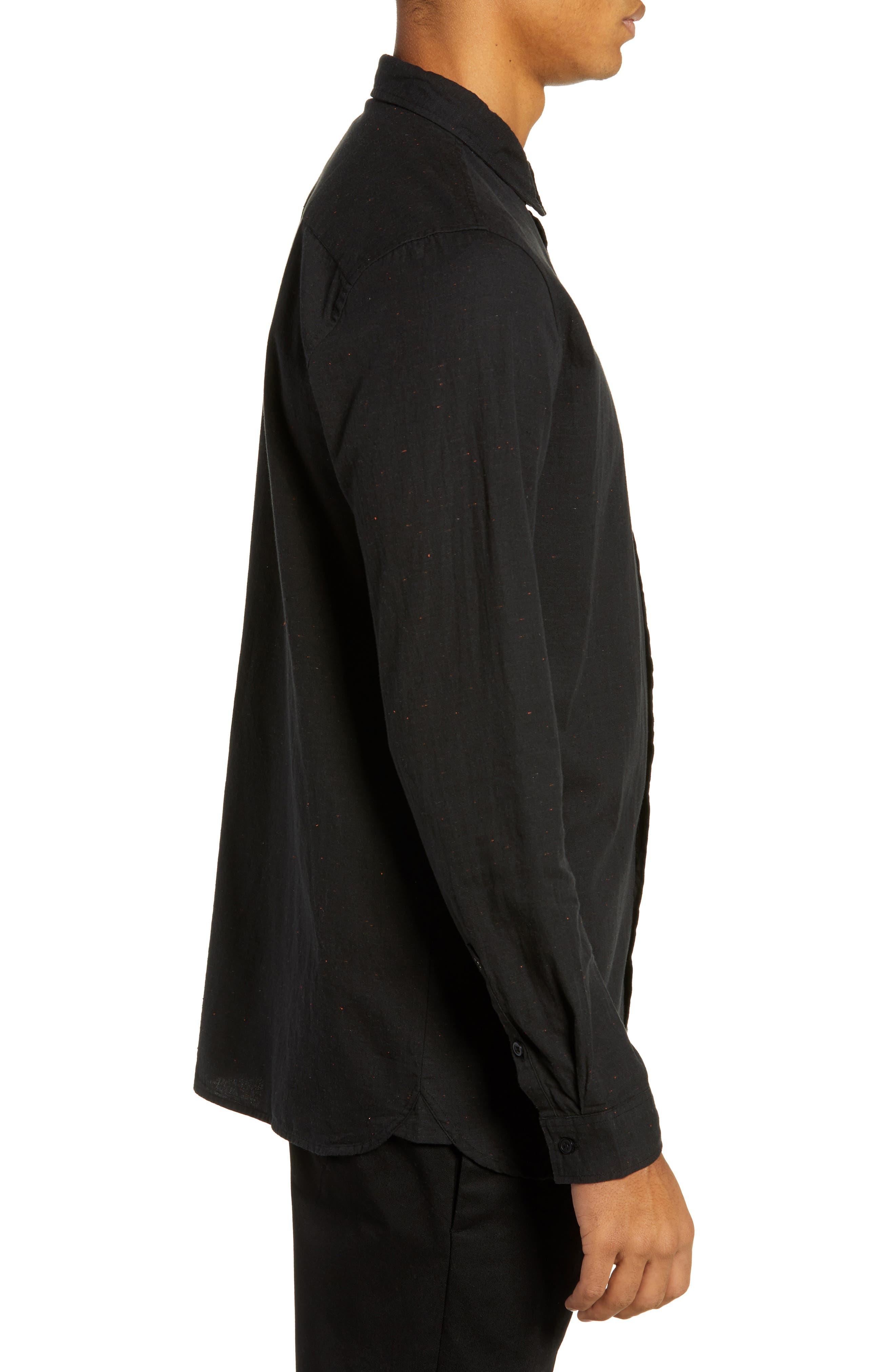 Goodstock Long Sleeve Shirt,                             Alternate thumbnail 3, color,                             LEAD