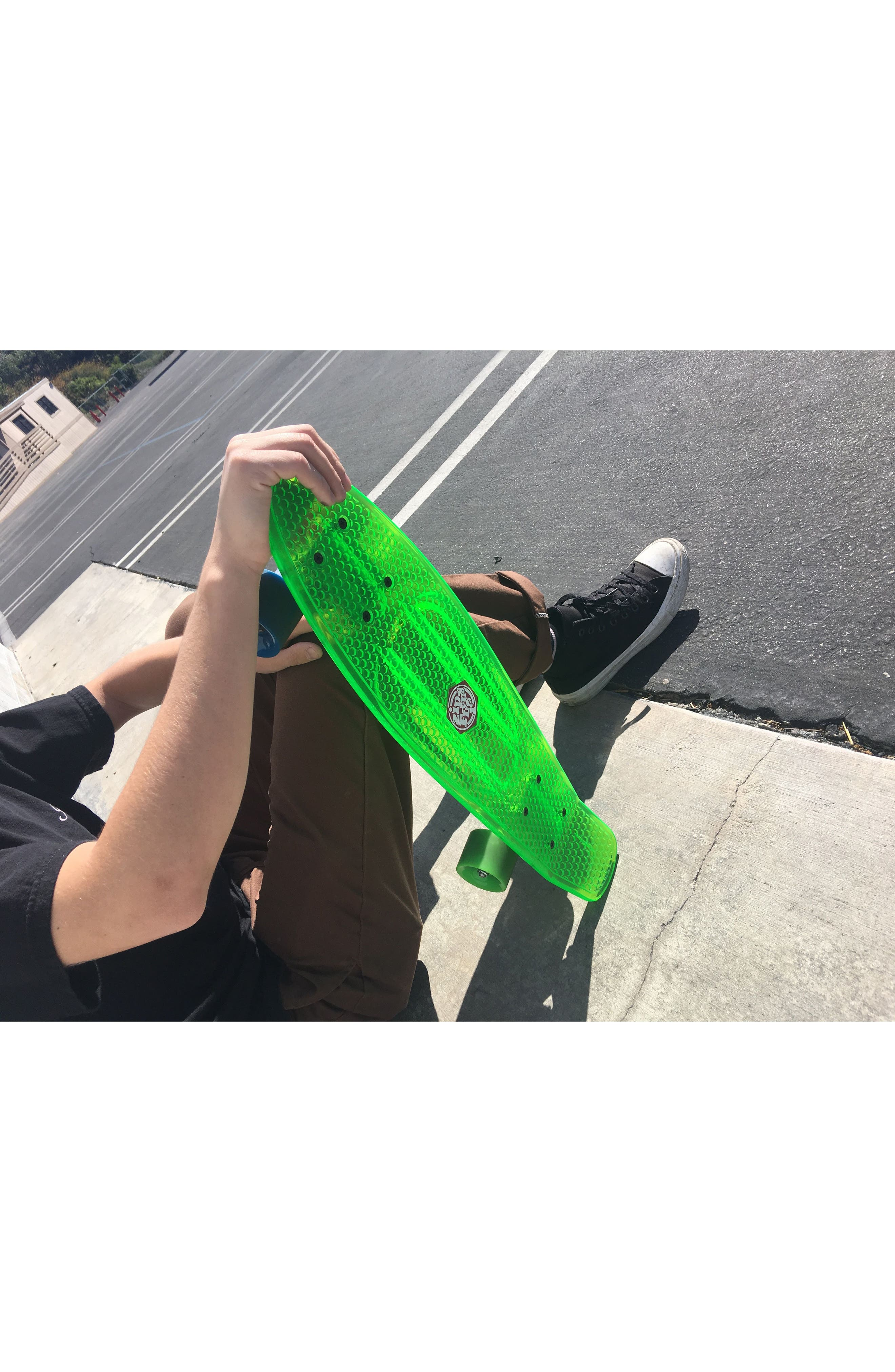 Translucent Skateboard,                             Alternate thumbnail 5, color,