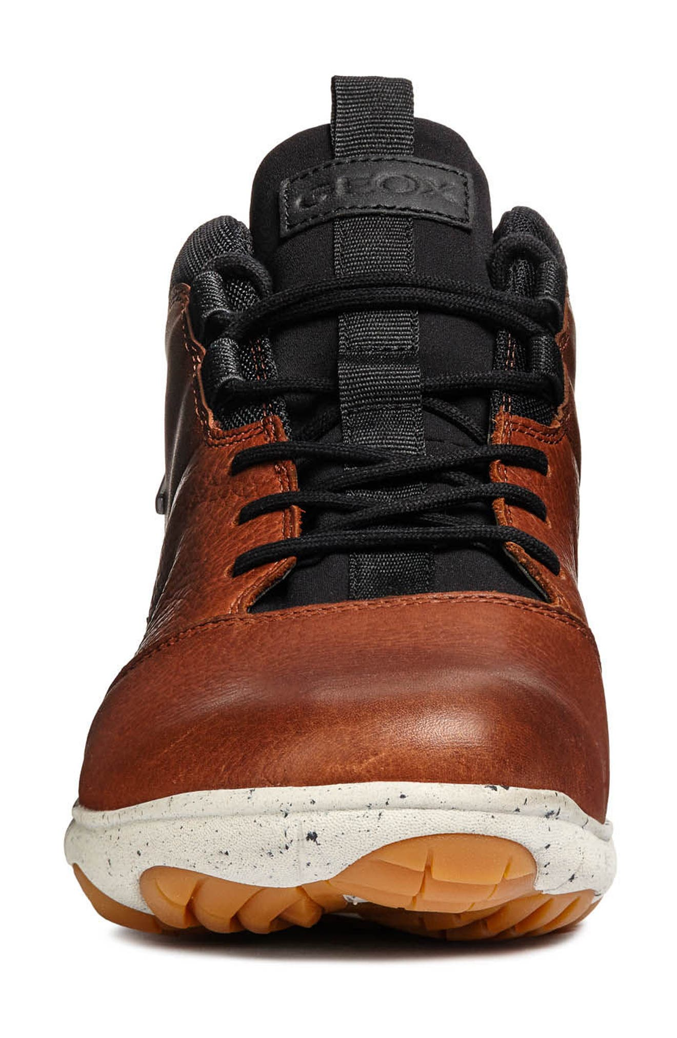 Nebula 4x4 ABX 5 Waterproof Sneaker Boot,                             Alternate thumbnail 4, color,                             BROWN/ COGNAC LEATHER