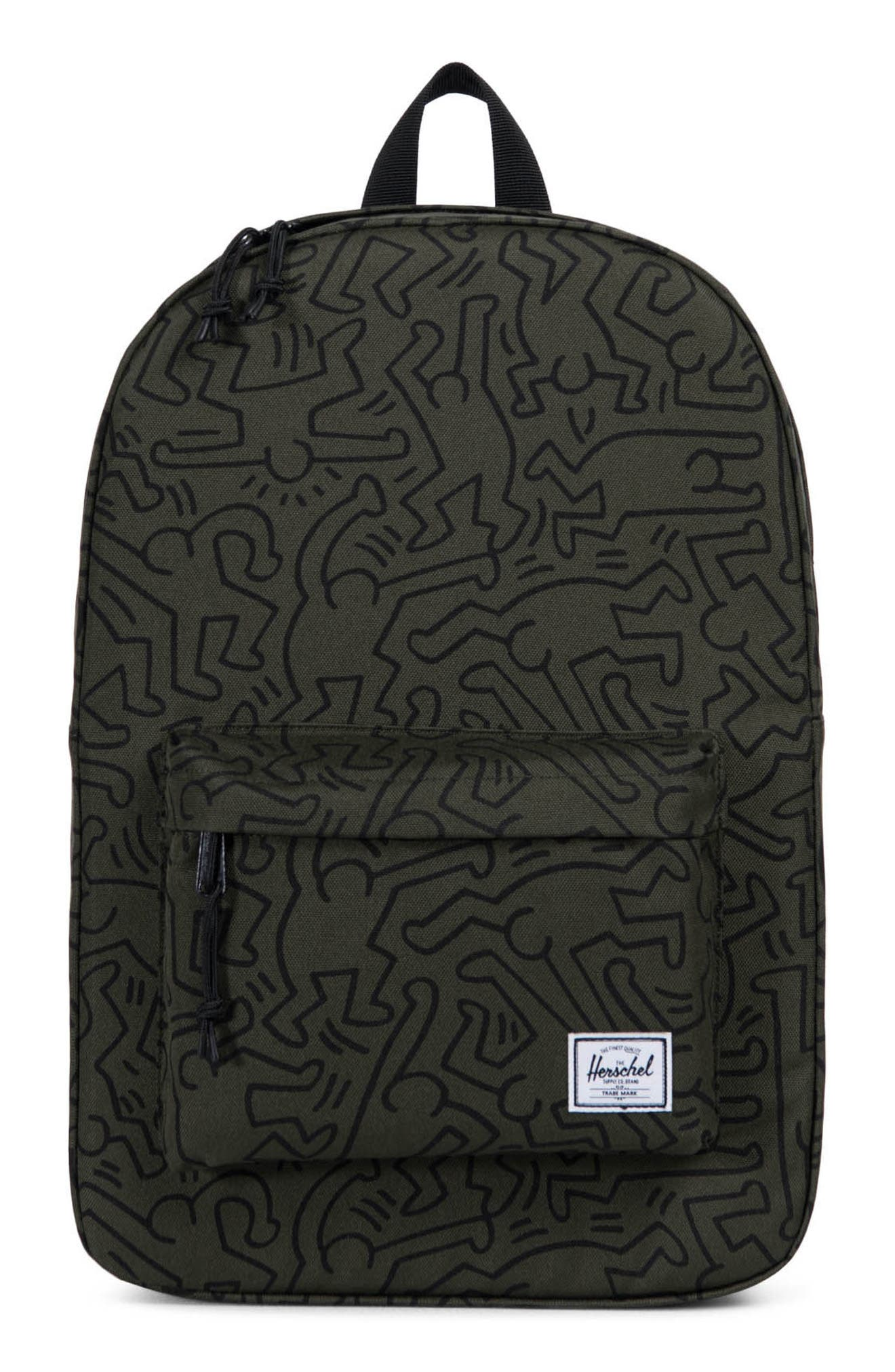Winlaw x Keith Haring Backpack,                             Alternate thumbnail 5, color,