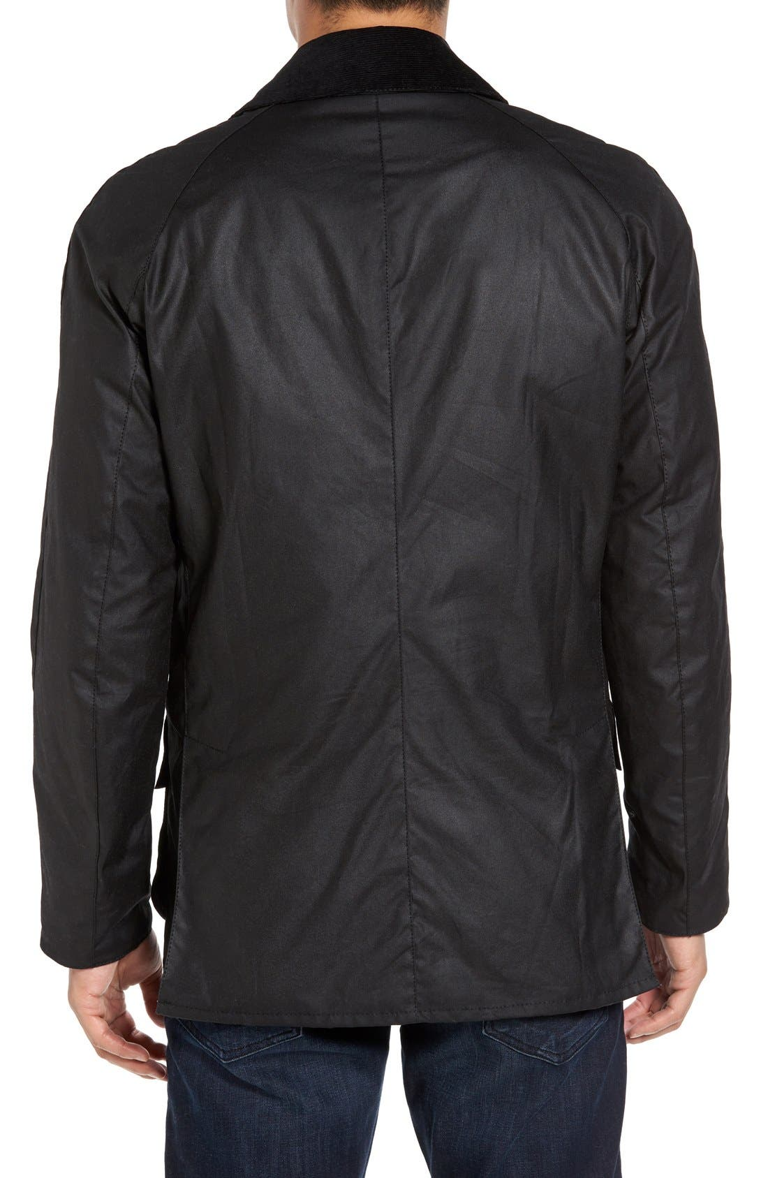 Barbour Ashby Wax Jacket, Black