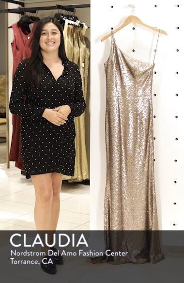 Bella One-Shoulder Mermaid Gown, sales video thumbnail