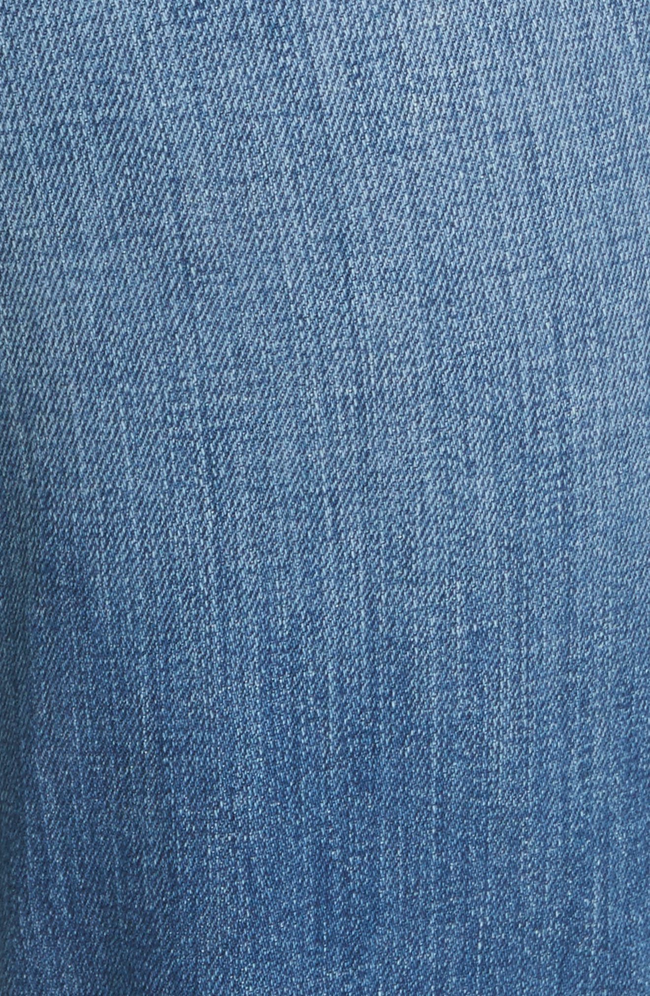 Lorelei High Waist Slim Straight Jeans,                             Alternate thumbnail 6, color,                             450