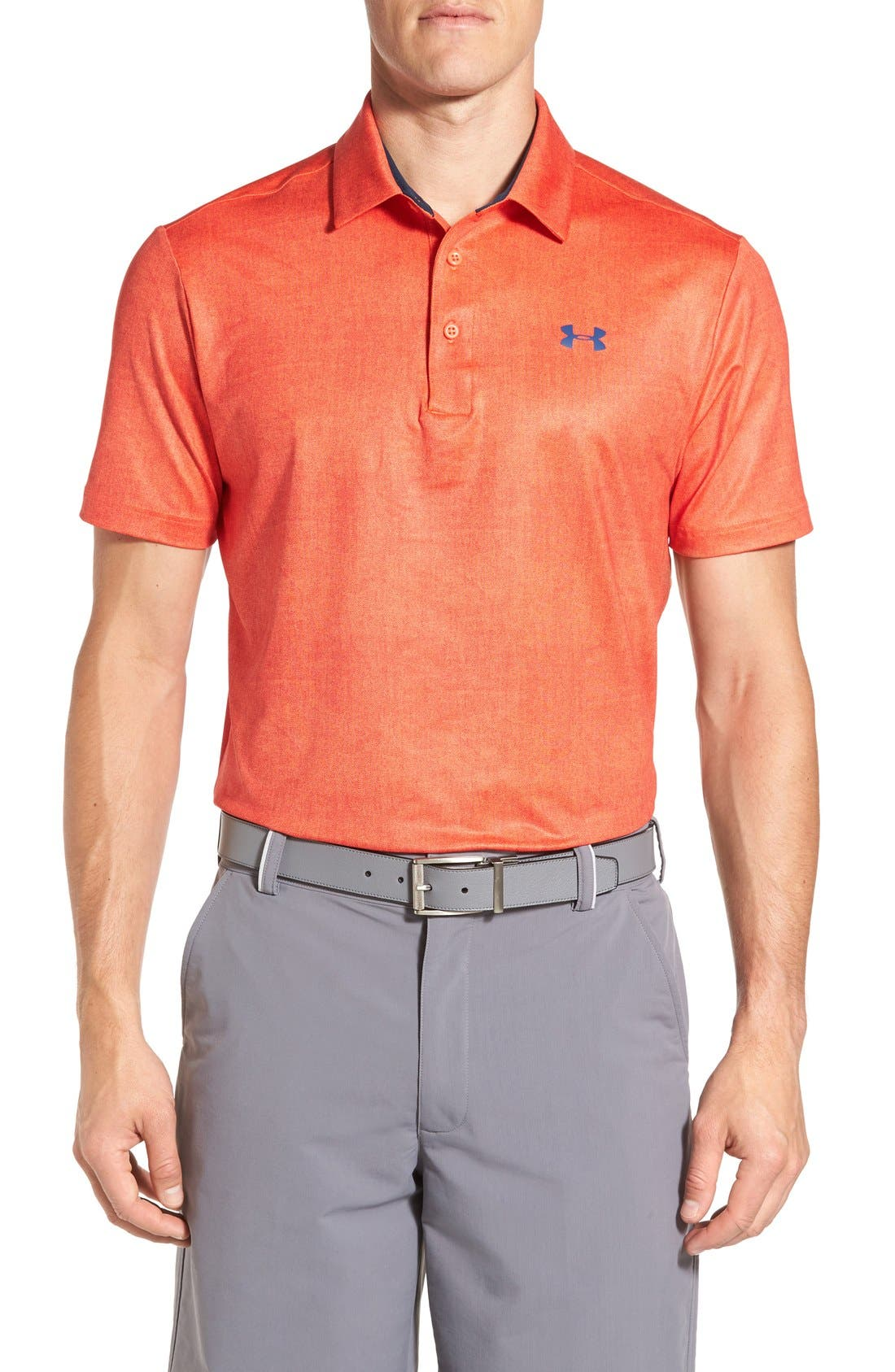 'Playoff' Loose Fit Short Sleeve Polo,                             Main thumbnail 51, color,